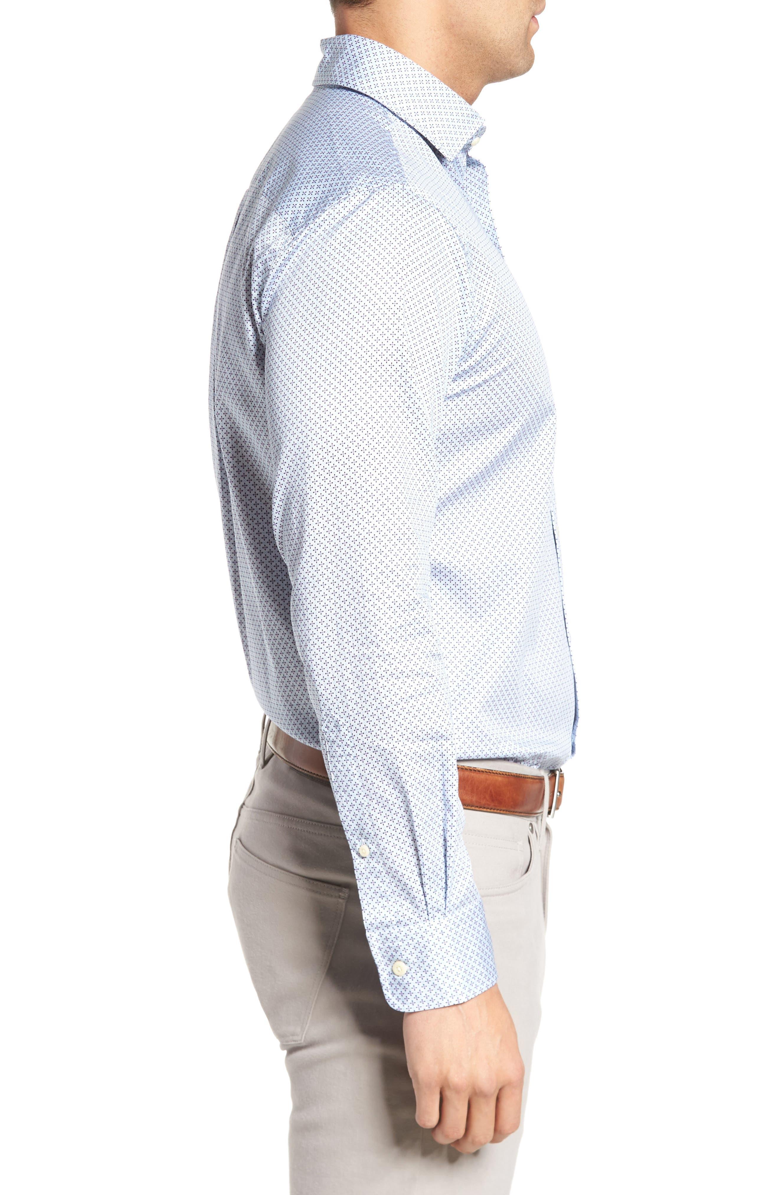 Alternate Image 3  - Peter Millar Flashback Classic Fit Print Sport Shirt