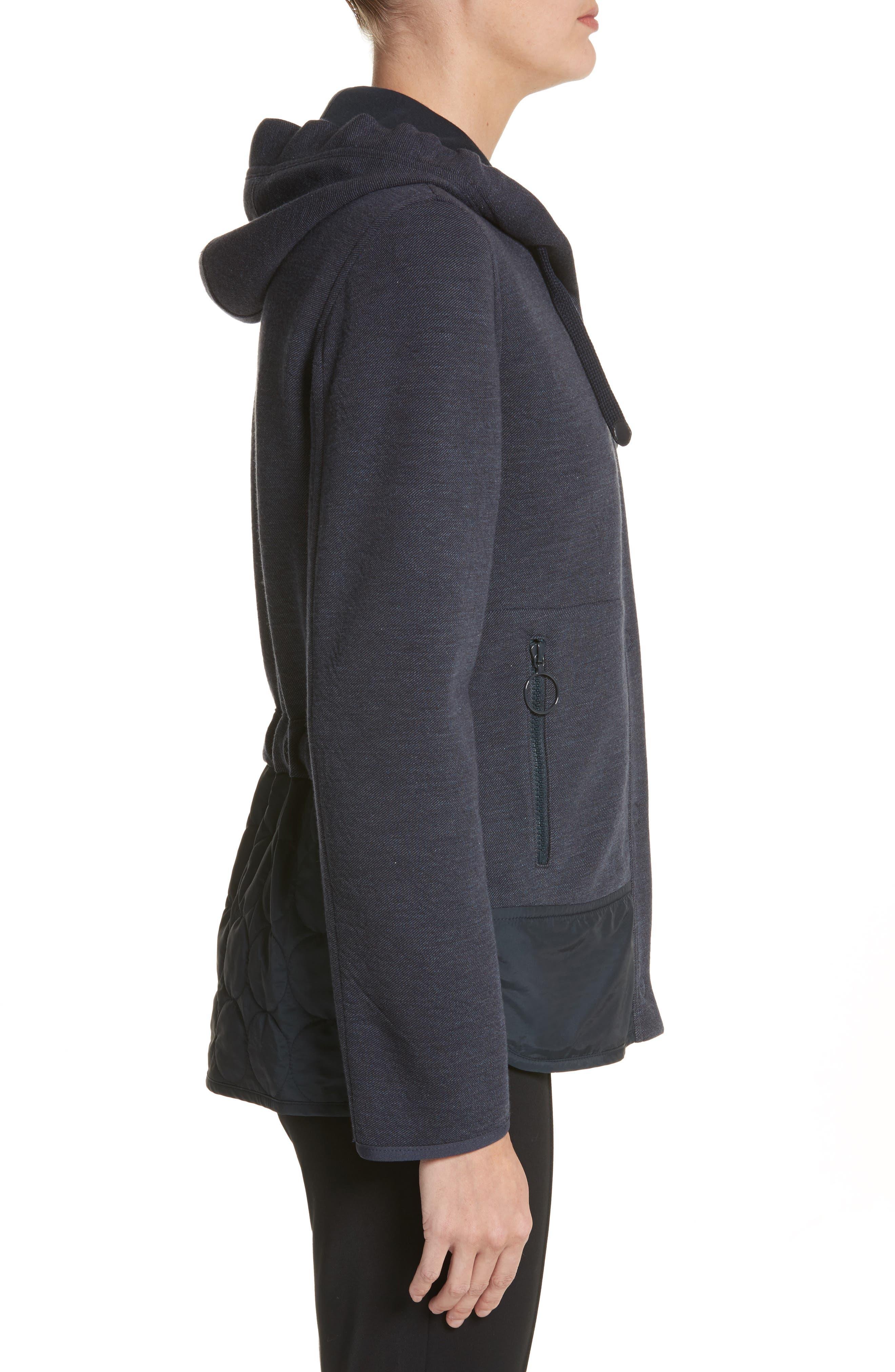 Two-Piece Hooded Jacket,                             Alternate thumbnail 3, color,                             Indigo
