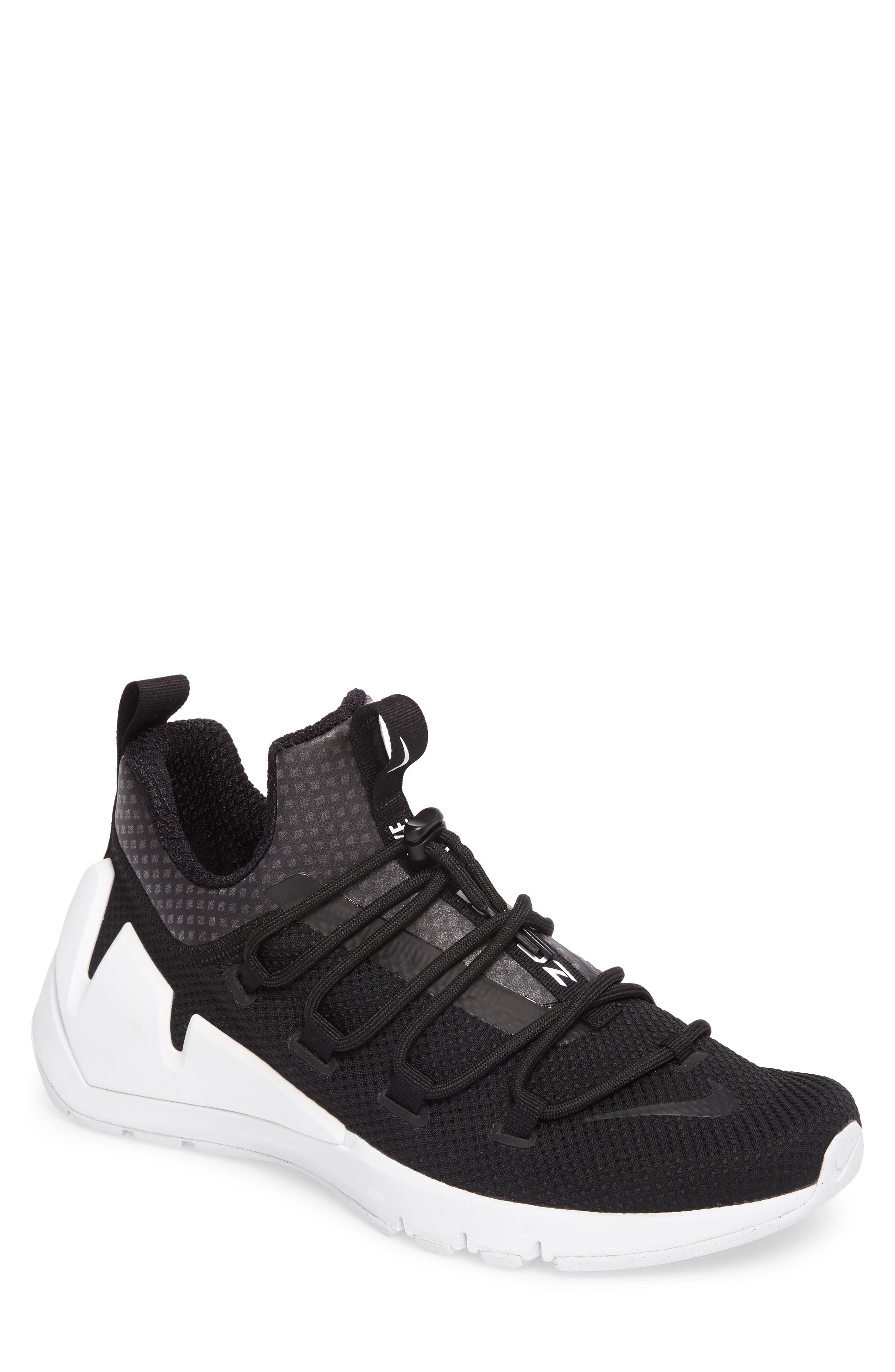 Air Zoom Grade Sneaker,                             Main thumbnail 1, color,                             Black/Black/White