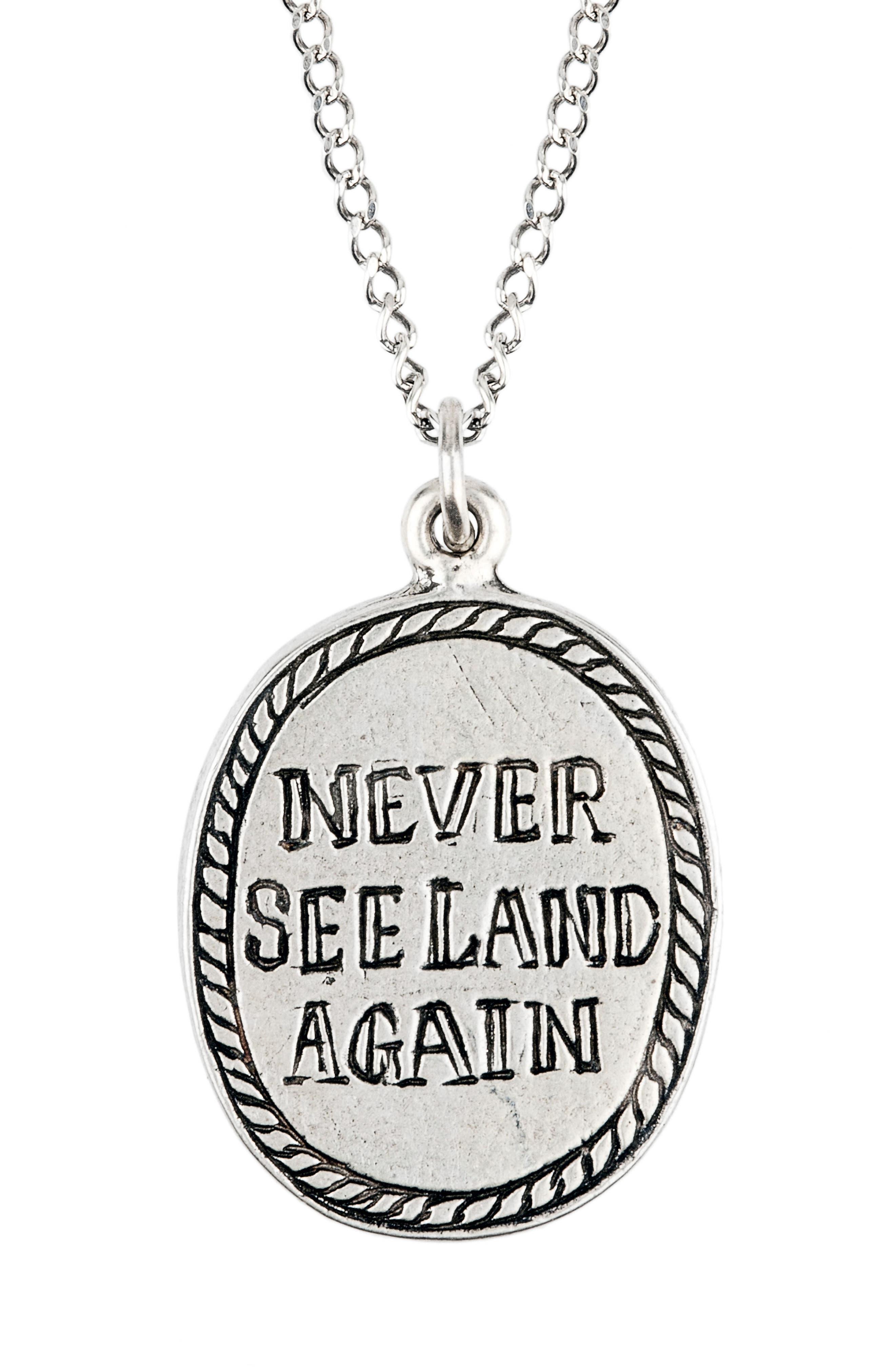 Alternate Image 2  - Lewis Henry Nicholas Mermaid Pendant Necklace
