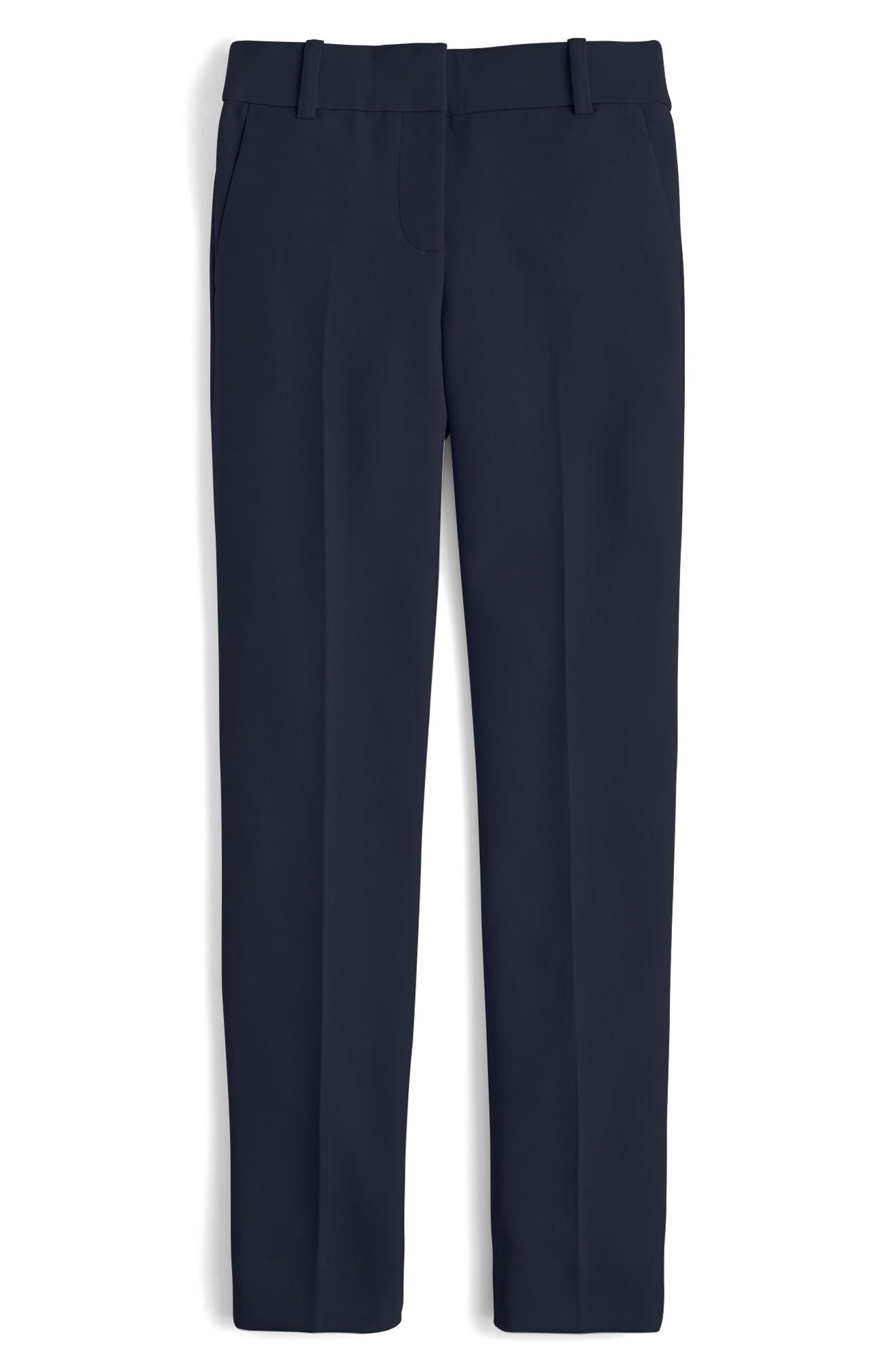 Alternate Image 1 Selected - J.Crew Cameron Four Season Crop Pants (Regular & Petite)