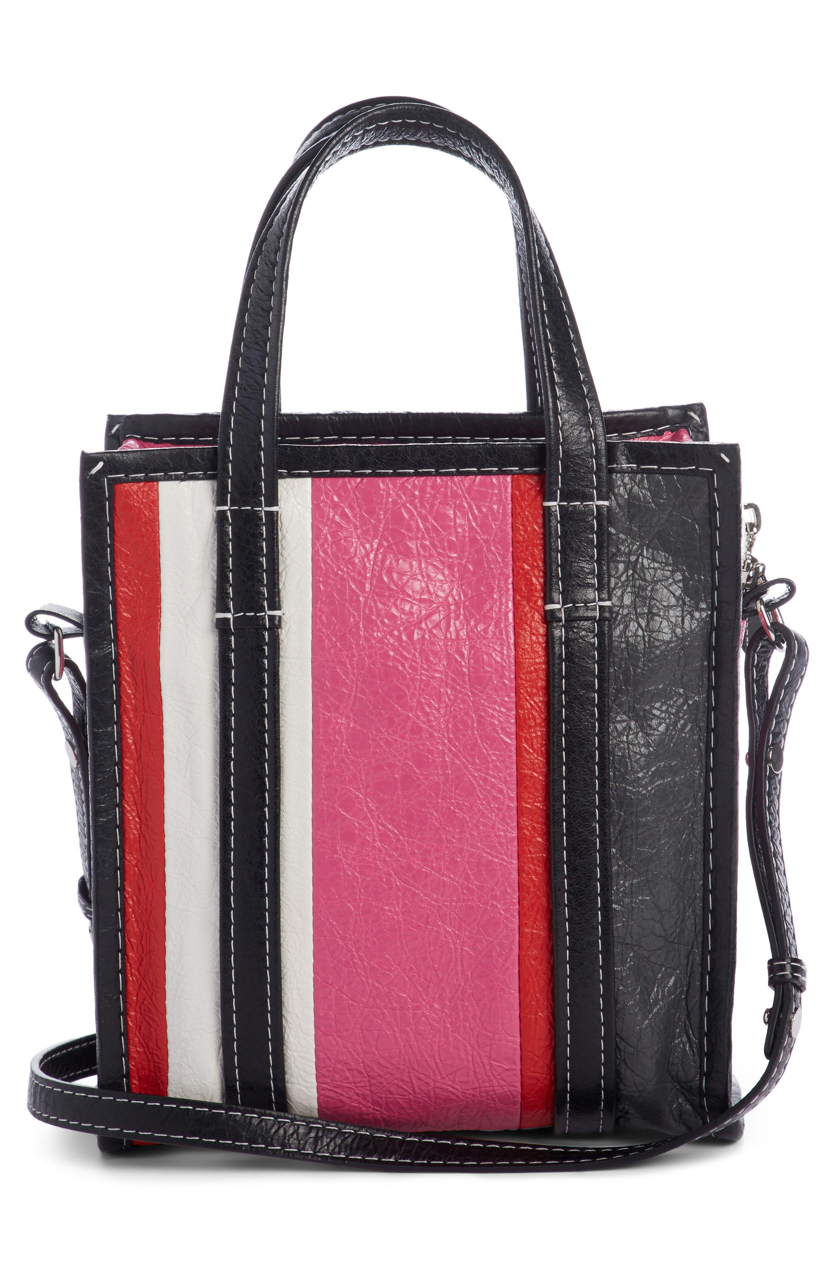 Alternate Image 2  - Balenciaga Extra Small Bazaar Leather Shopper