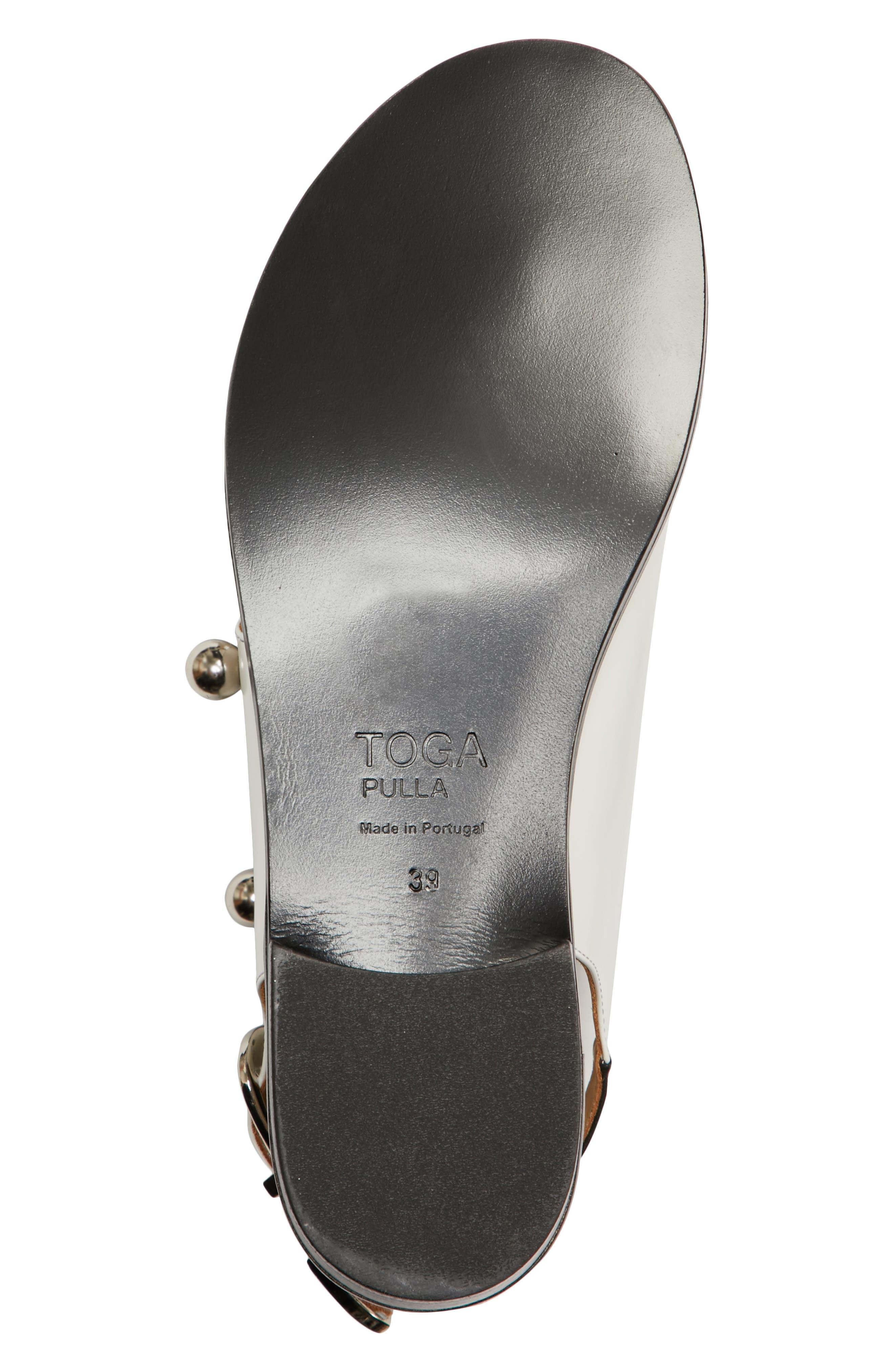 Alternate Image 6  - TOGA PULLA Round Stud Sandal (Women)