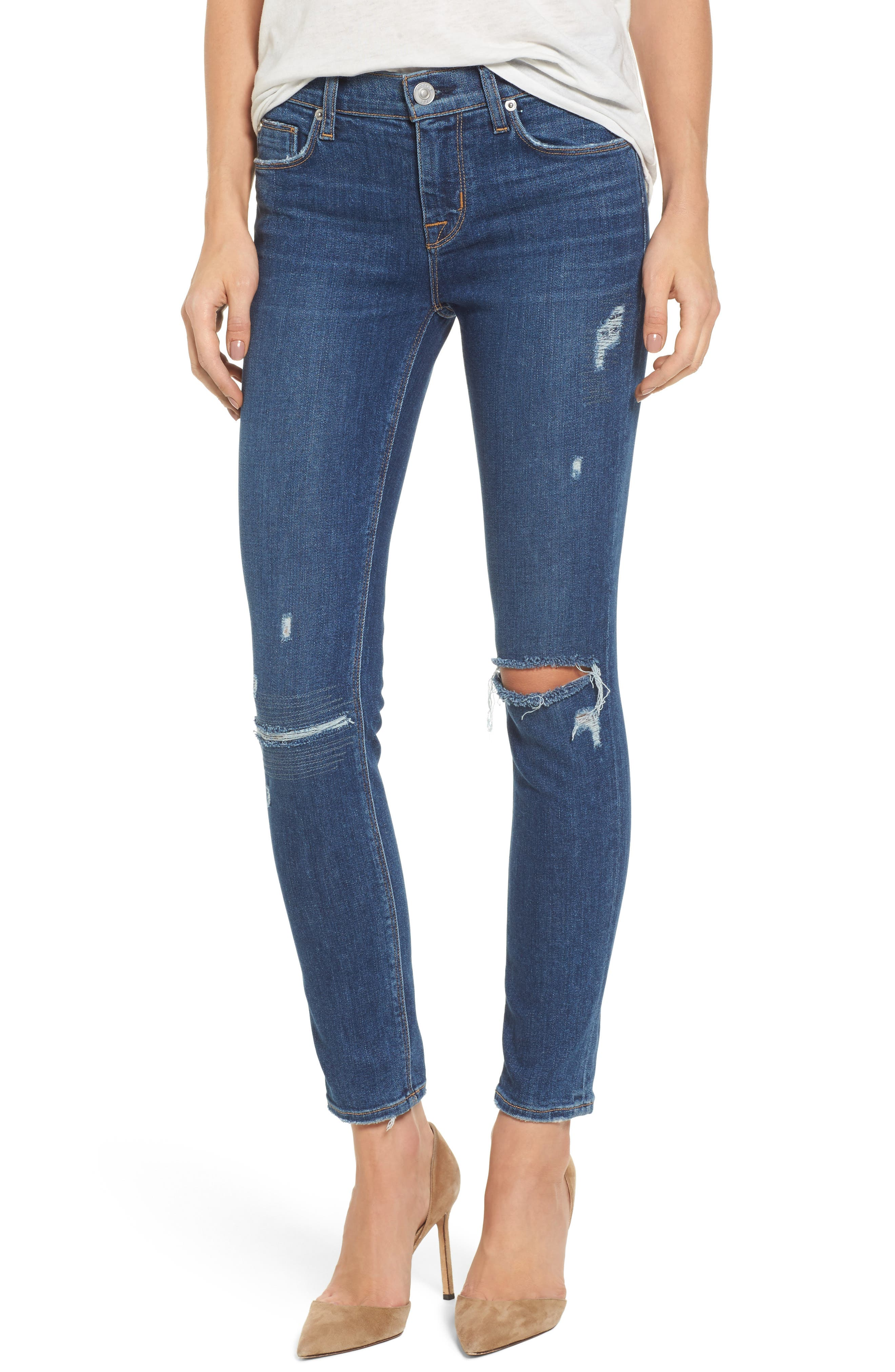 Tally Ankle Skinny Jeans,                         Main,                         color, Imperial