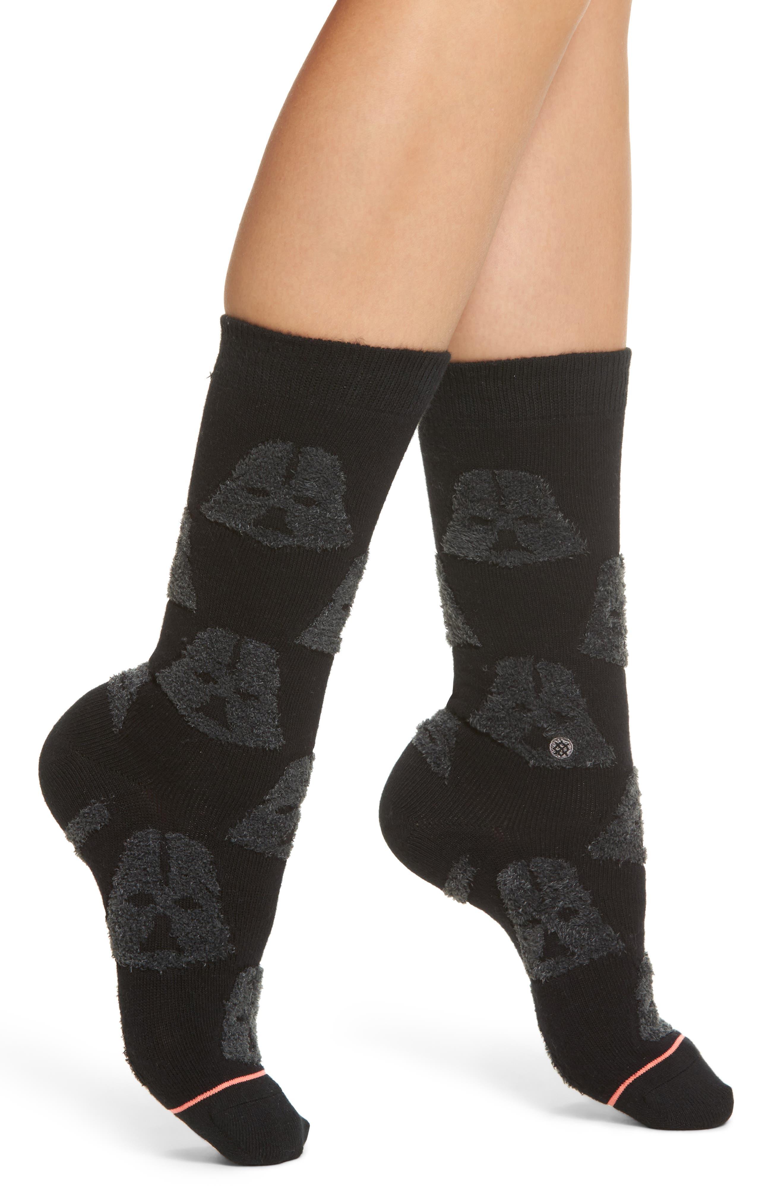 "Stance ""Star Wars"" - Cozy Vader Crew Socks"