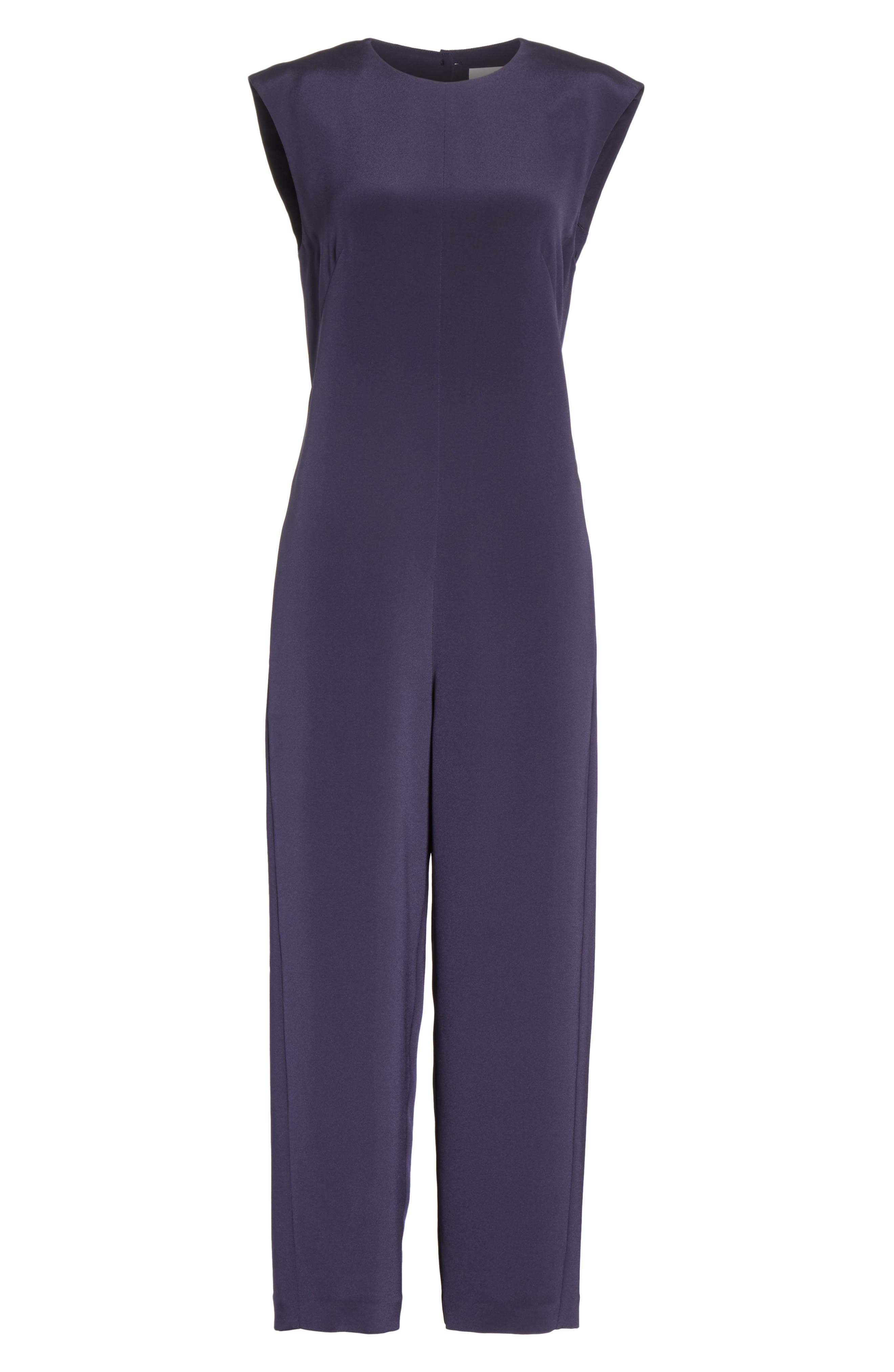 Alternate Image 5  - Tibi Open Back Four-Ply Silk Jumpsuit