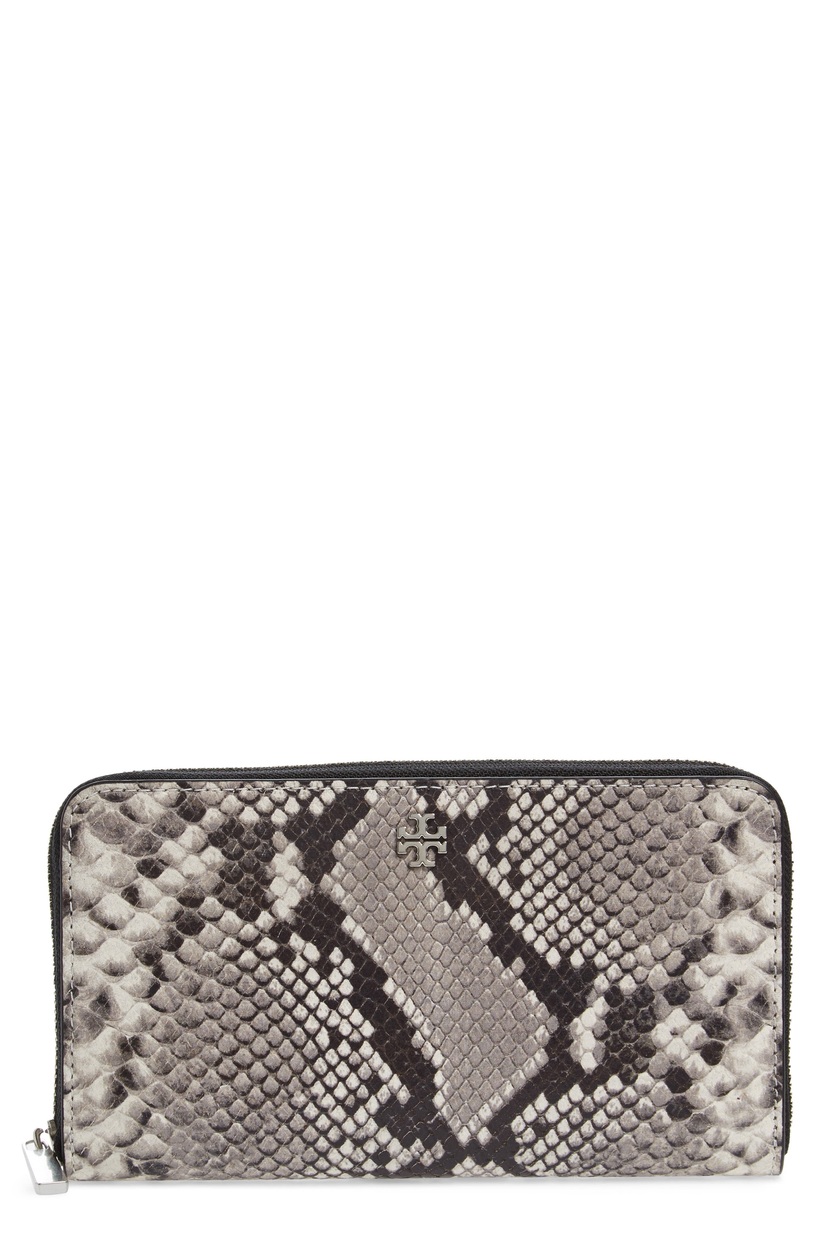 Alternate Image 1 Selected - Tory Burch Robinson Leather Continental Wallet