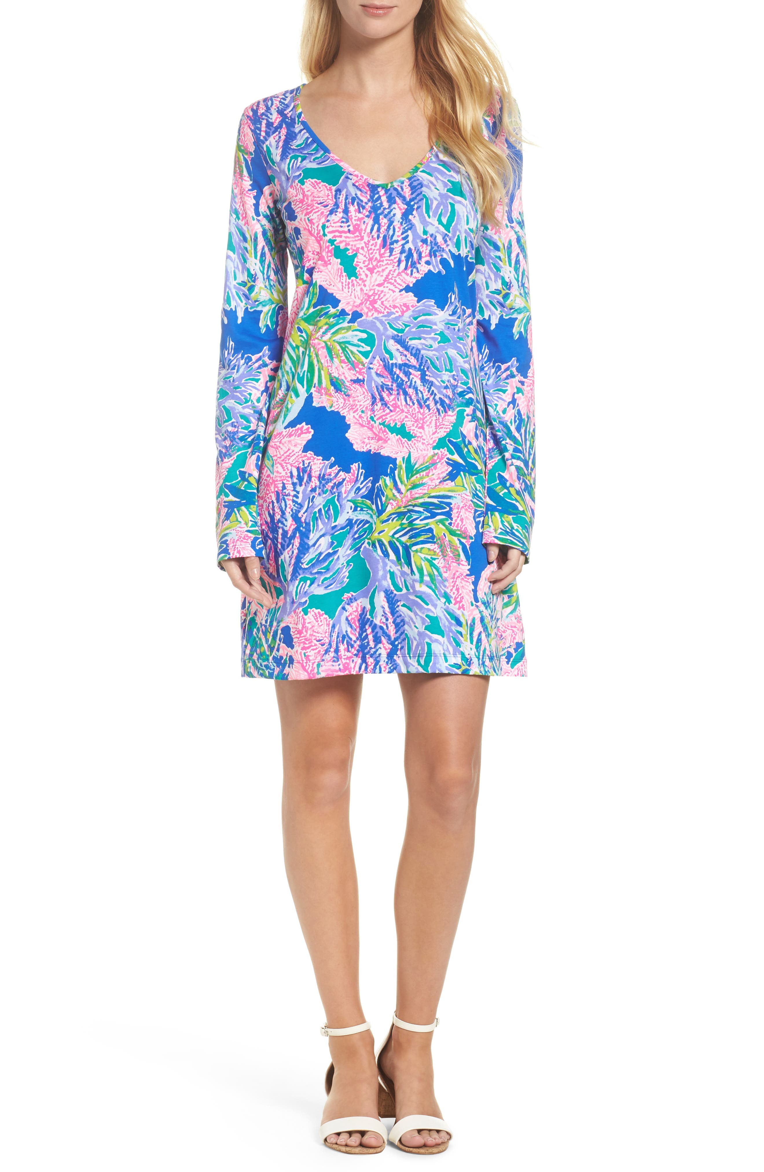 Beacon Dress,                         Main,                         color, Multi Fan Club