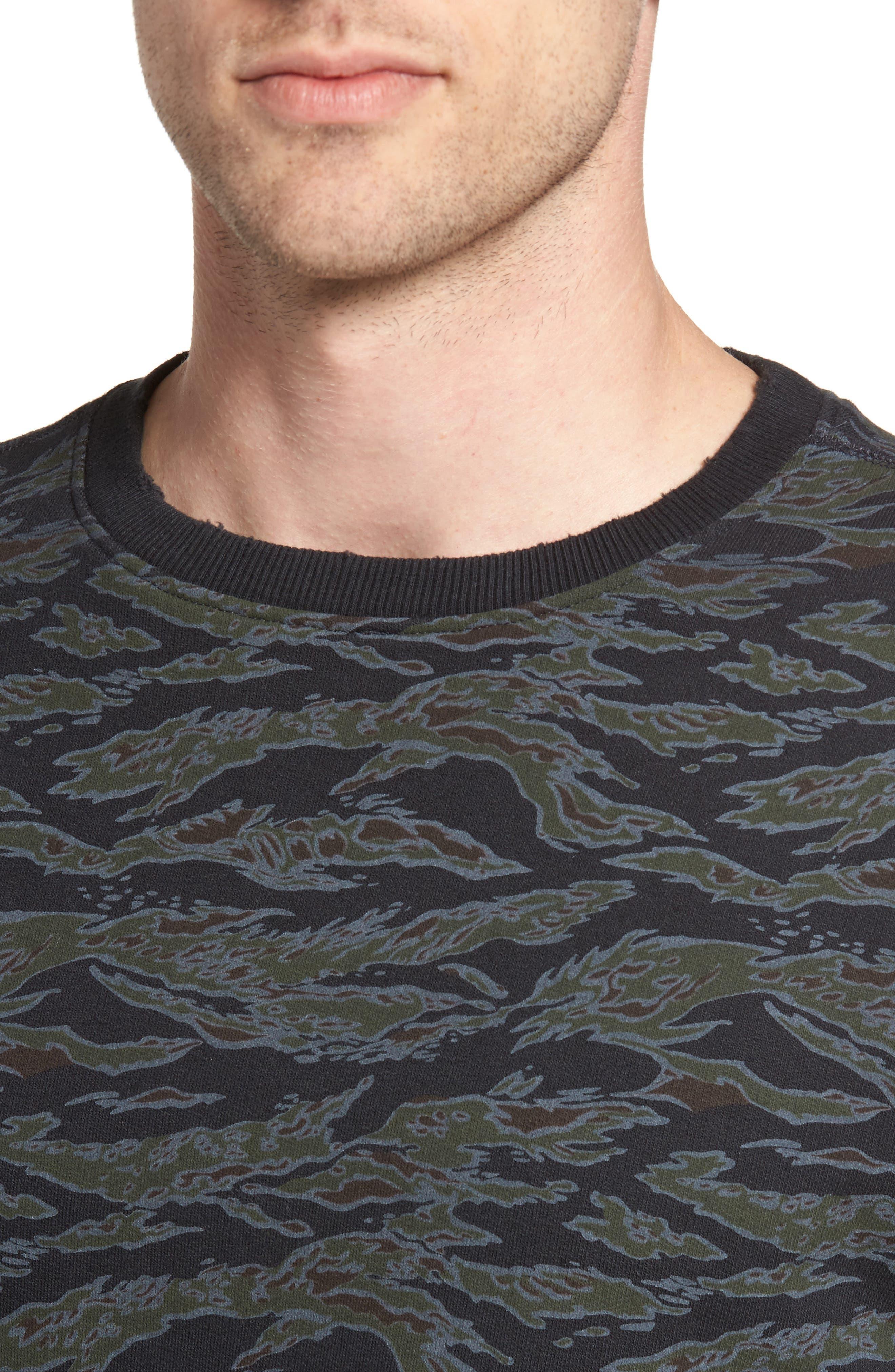 Alternate Image 4  - The Rail Print Sweatshirt
