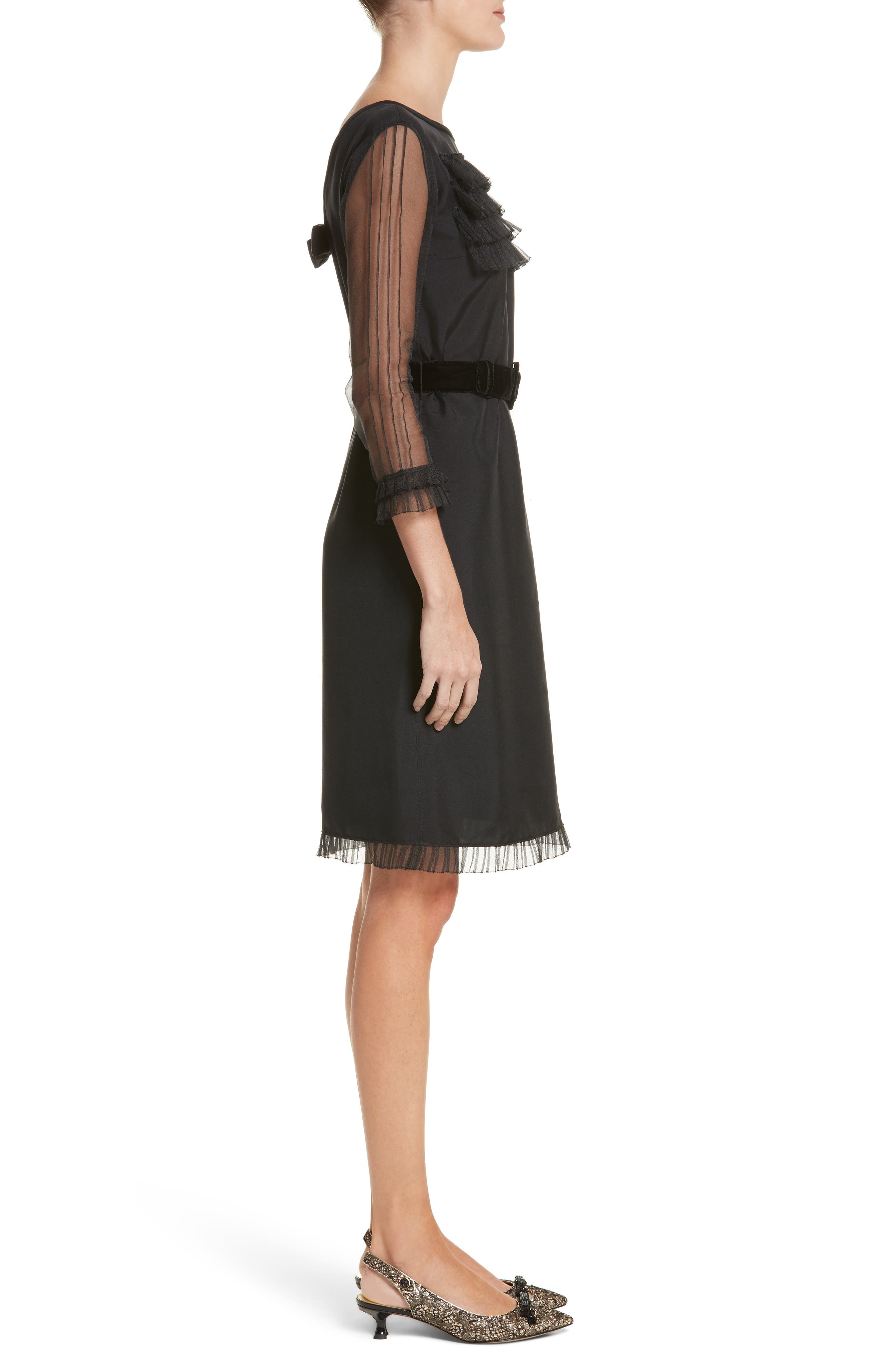 Alternate Image 3  - MARC JACOBS Silk Tulle Ruffle Dress