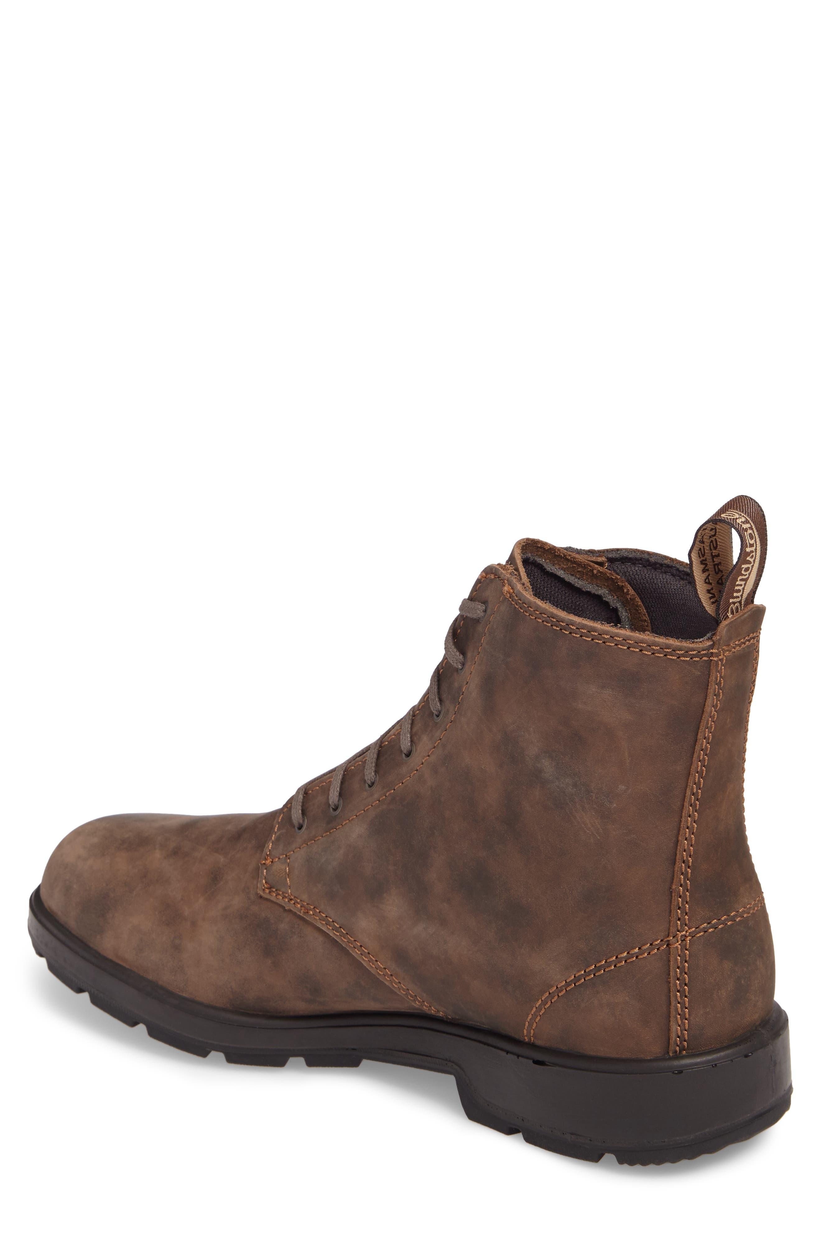 Original Plain Toe Boot,                             Alternate thumbnail 2, color,                             Rustic Brown Leather