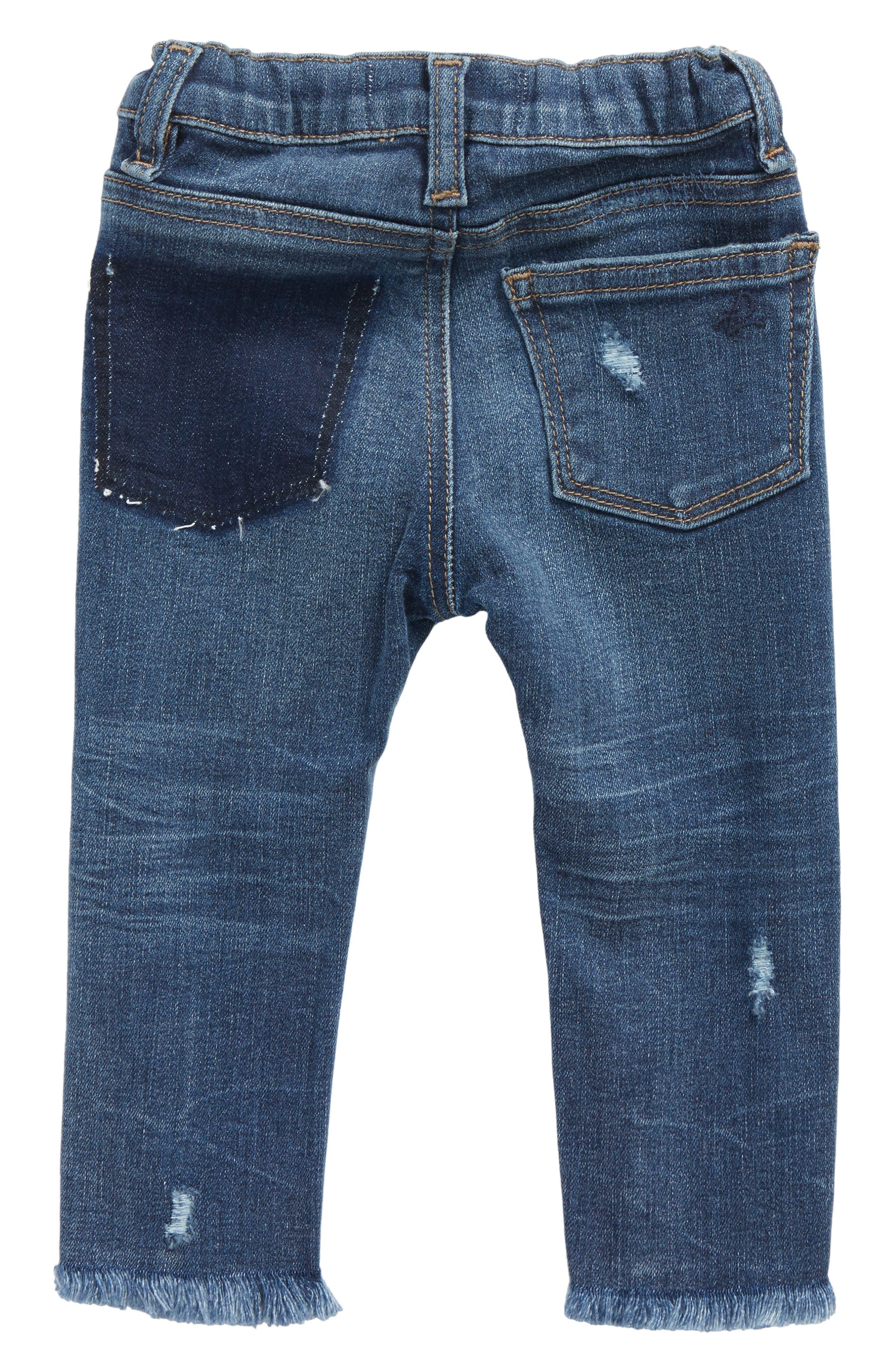 Distressed Skinny Jeans,                             Alternate thumbnail 2, color,                             Sumner