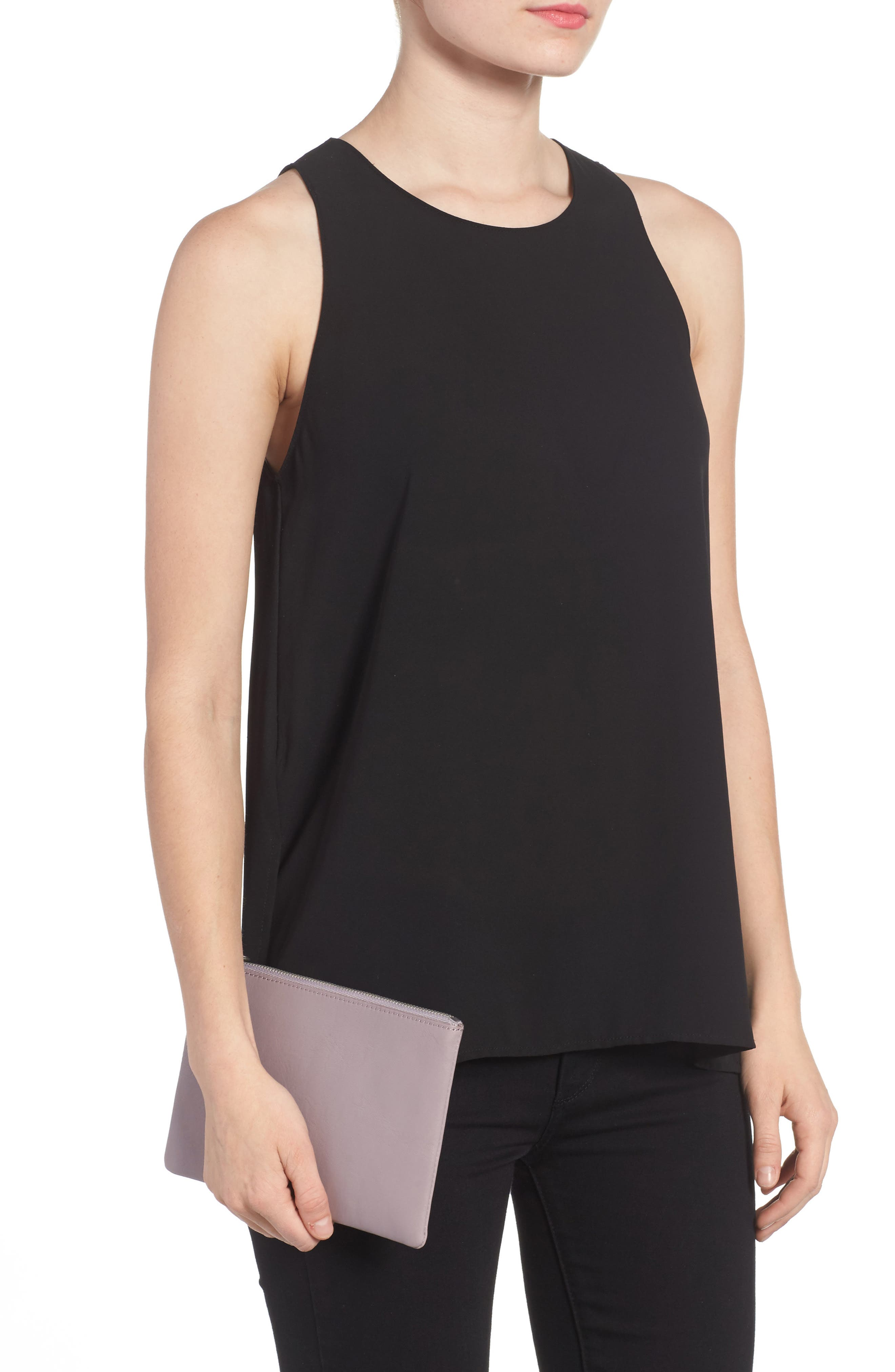 Alternate Image 2  - Madewell The Leather Pouch Clutch