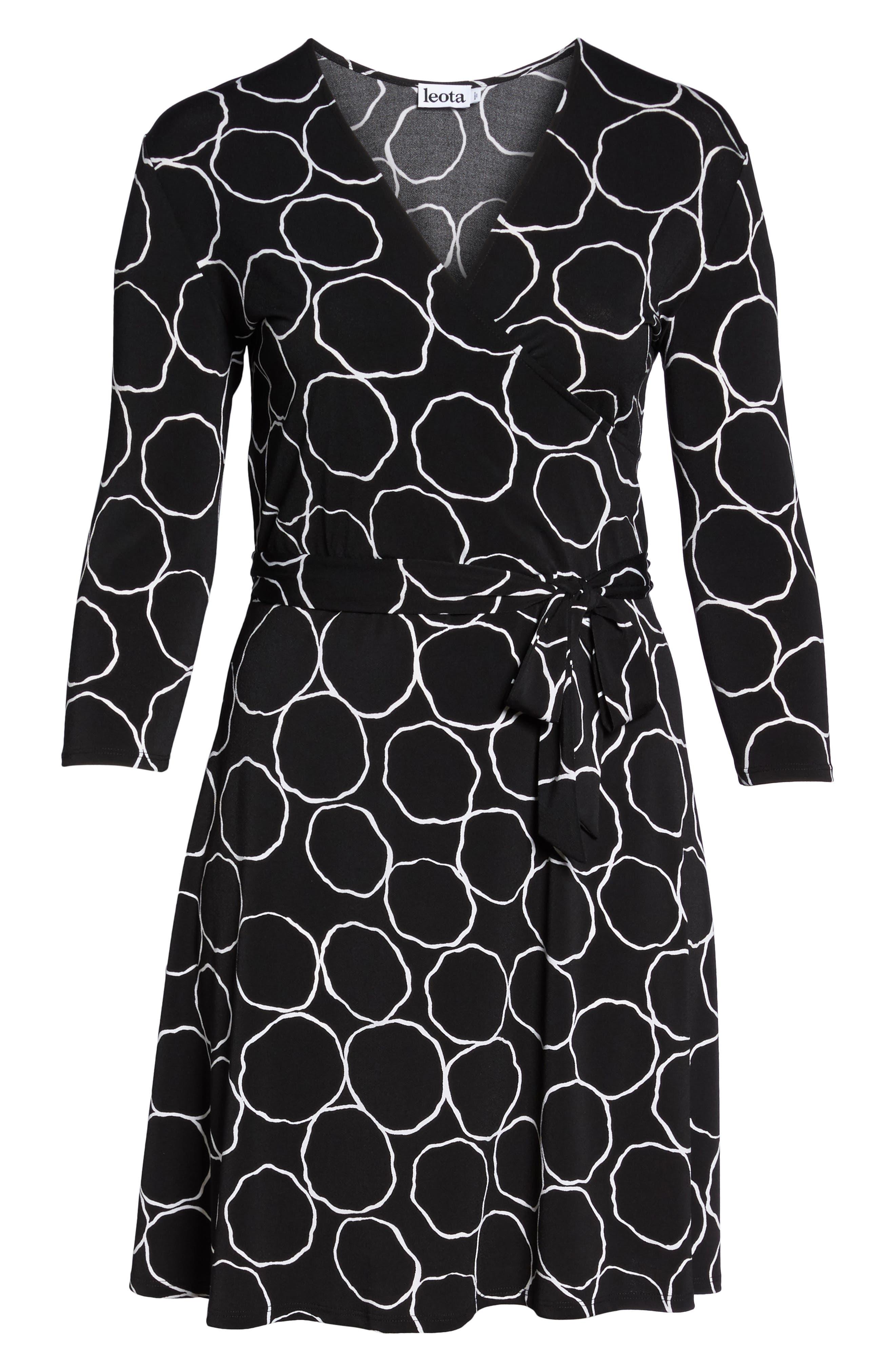Alternate Image 6  - Leota Wrap Dress (Plus Size)