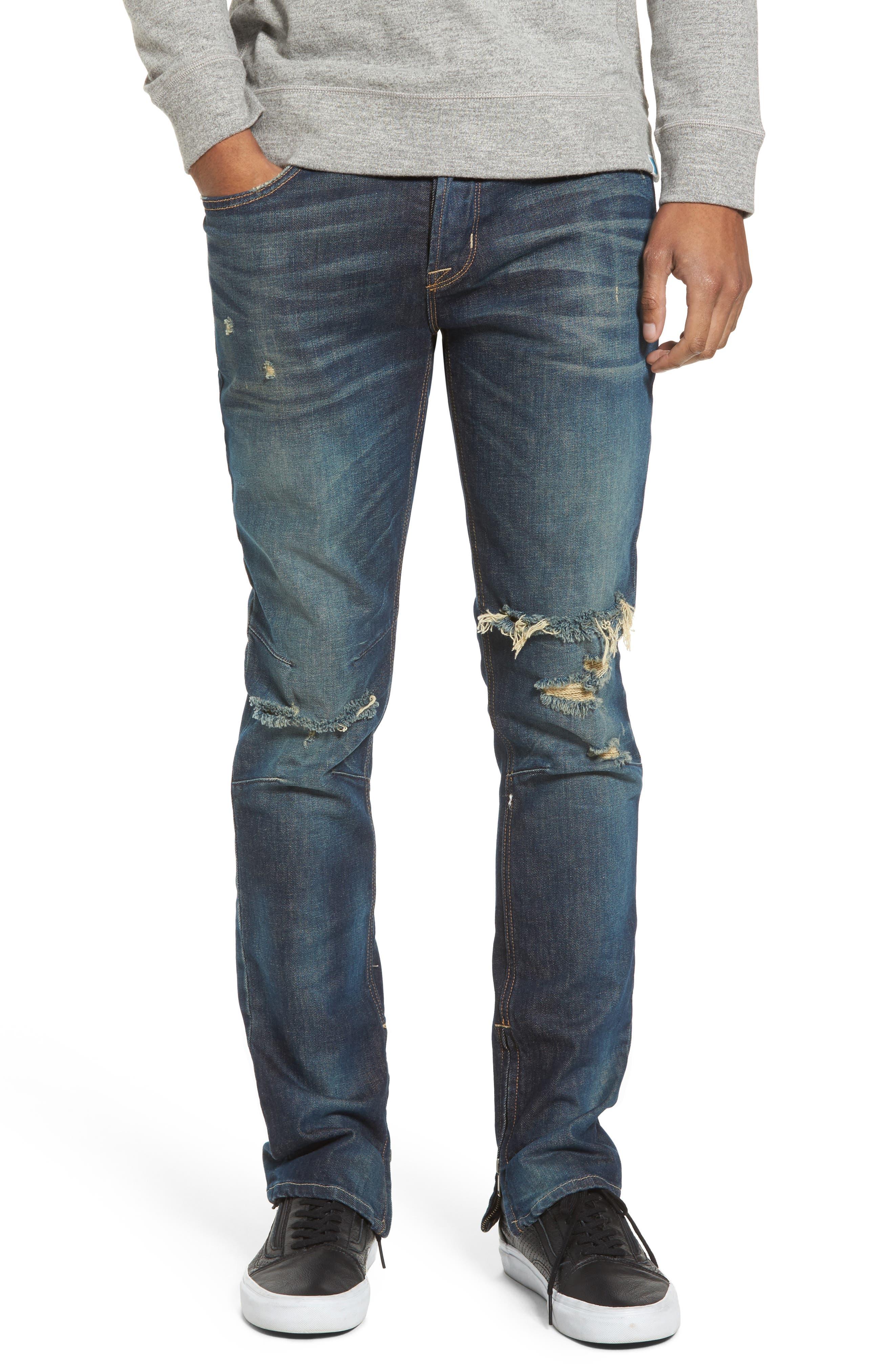 Hudson Jeans Vaughn Skinny Fit Jeans (Slum)