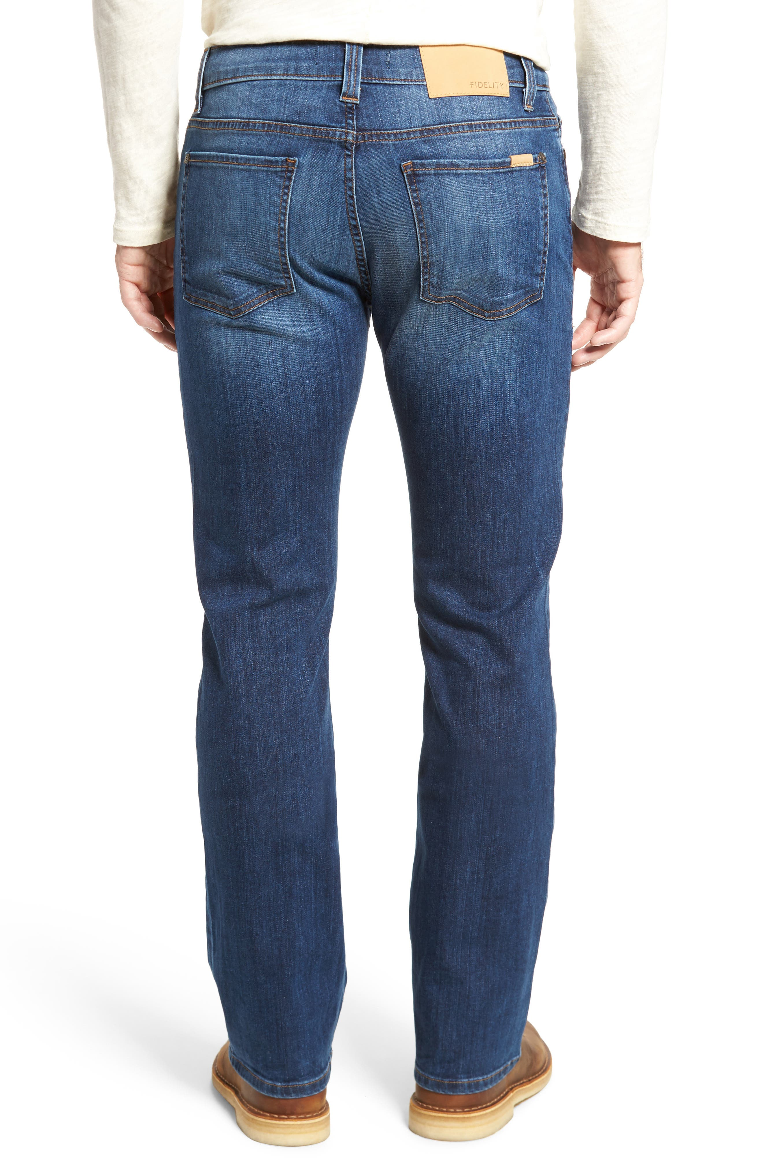 Alternate Image 2  - Fidelity Denim 5011 Relaxed Fit Jeans (Liverpool)