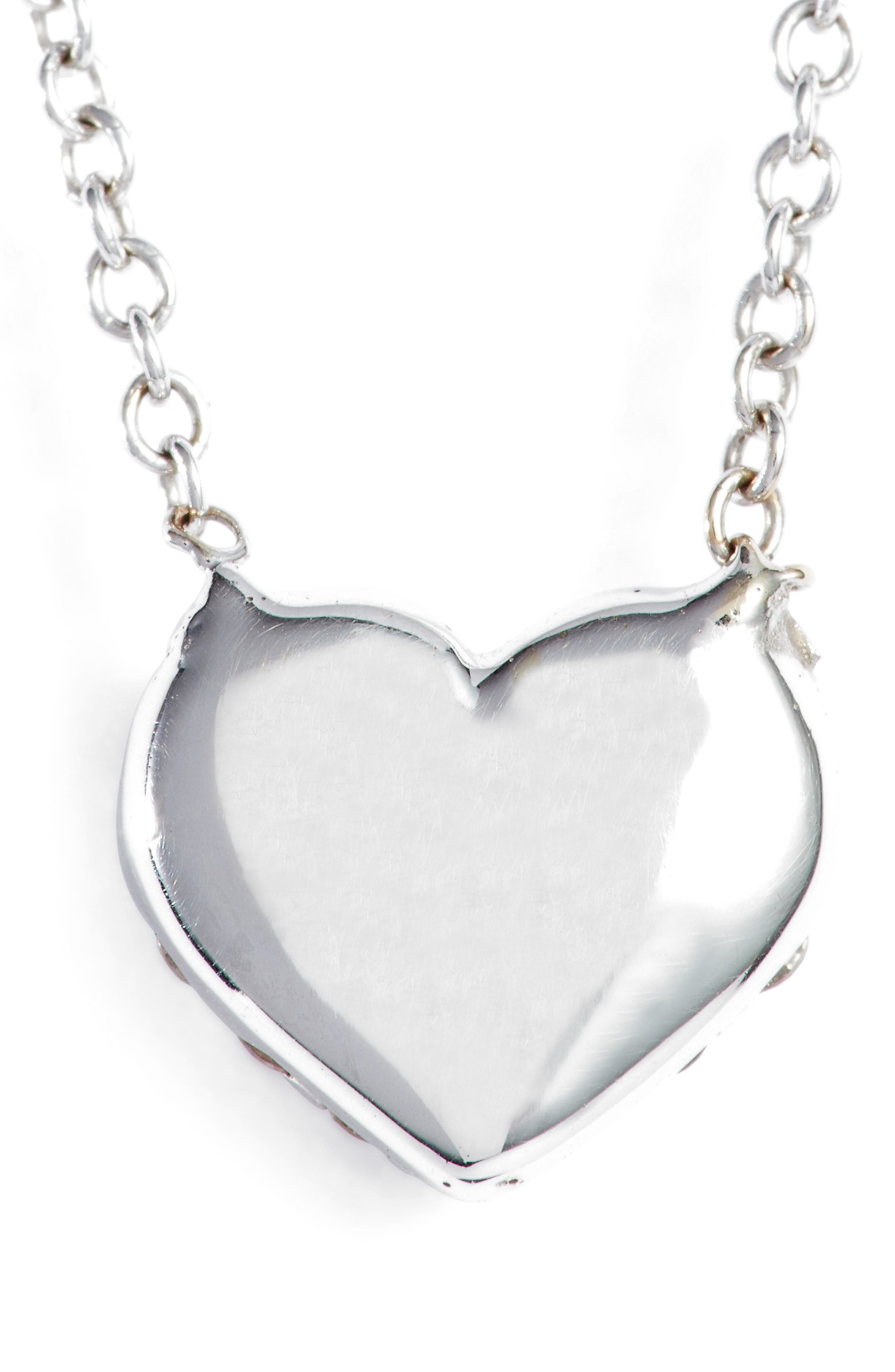 Alternate Image 4  - Bony Levy Diamond Pavé Heart Pendant Necklace (Limited Edition) (Nordstrom Exclusive)