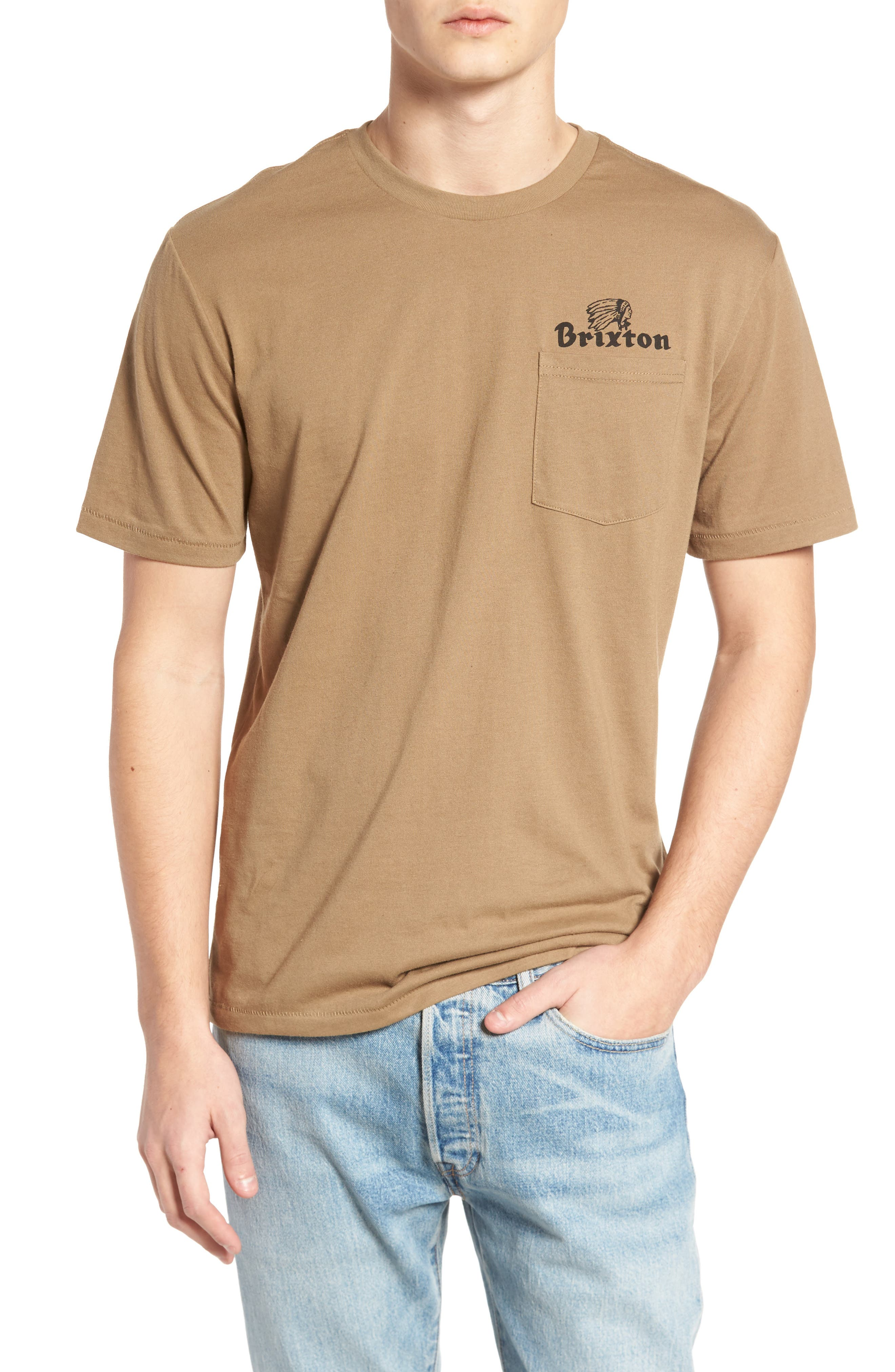 Tanka II Pocket T-Shirt,                         Main,                         color, Dusty Olive