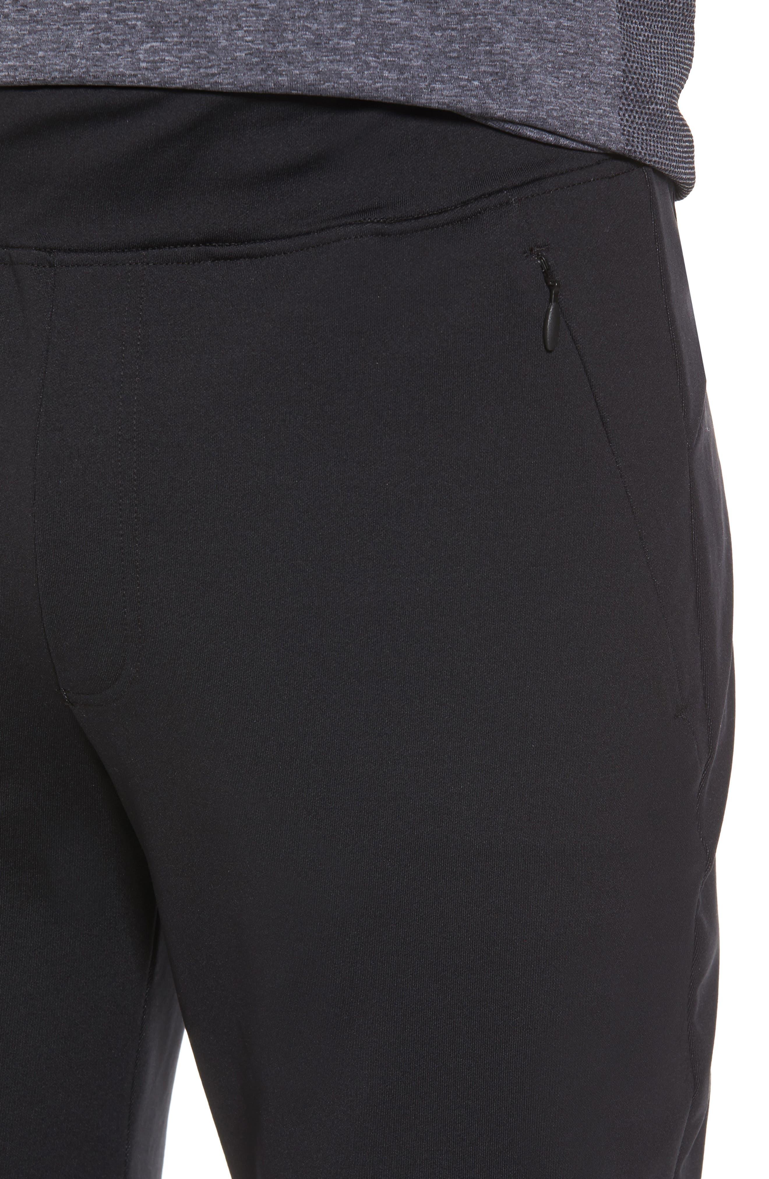Everywear Jogger Pants,                             Alternate thumbnail 4, color,                             Black