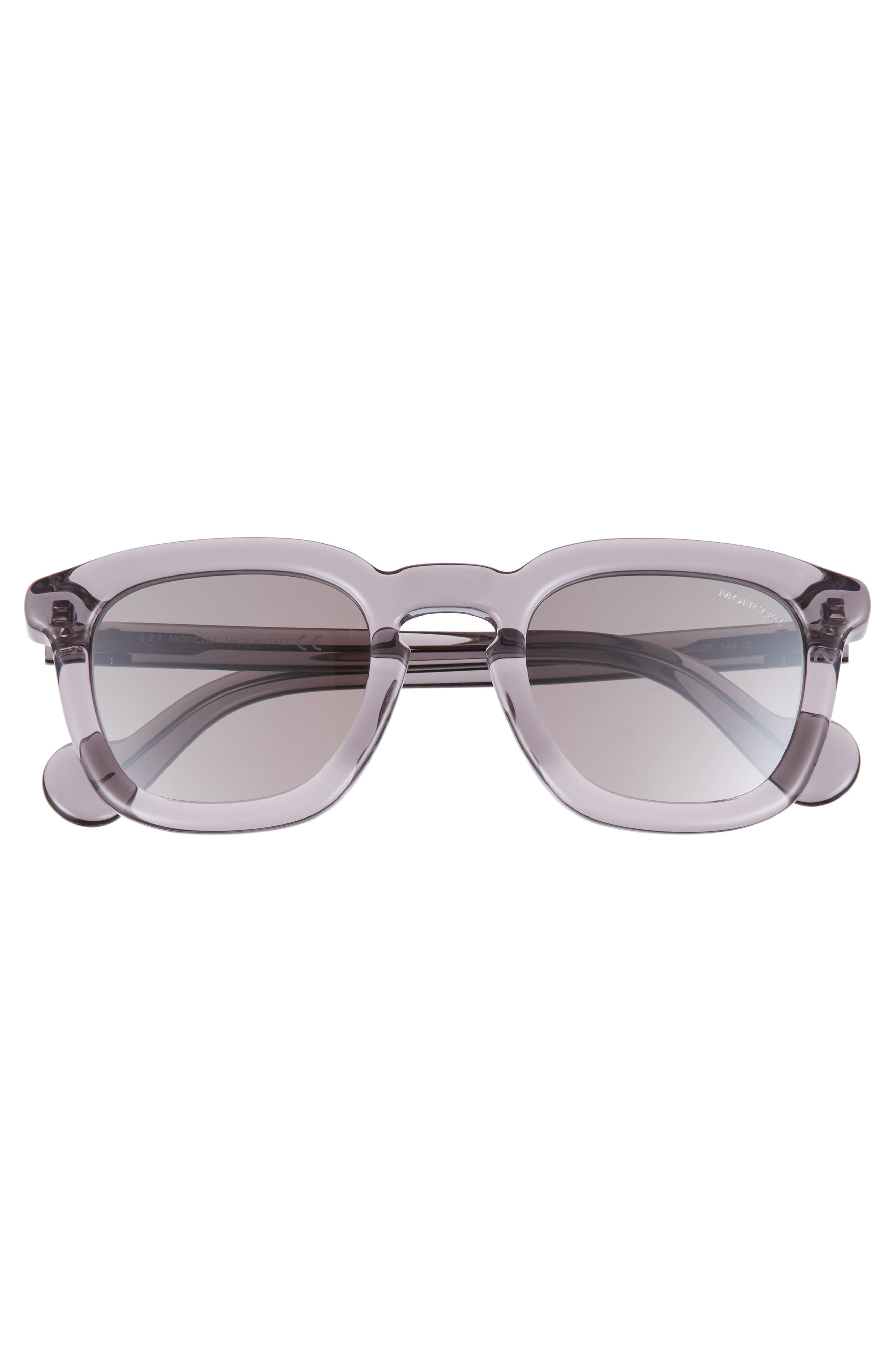 Alternate Image 2  - Moncler 50mm Square Sunglasses