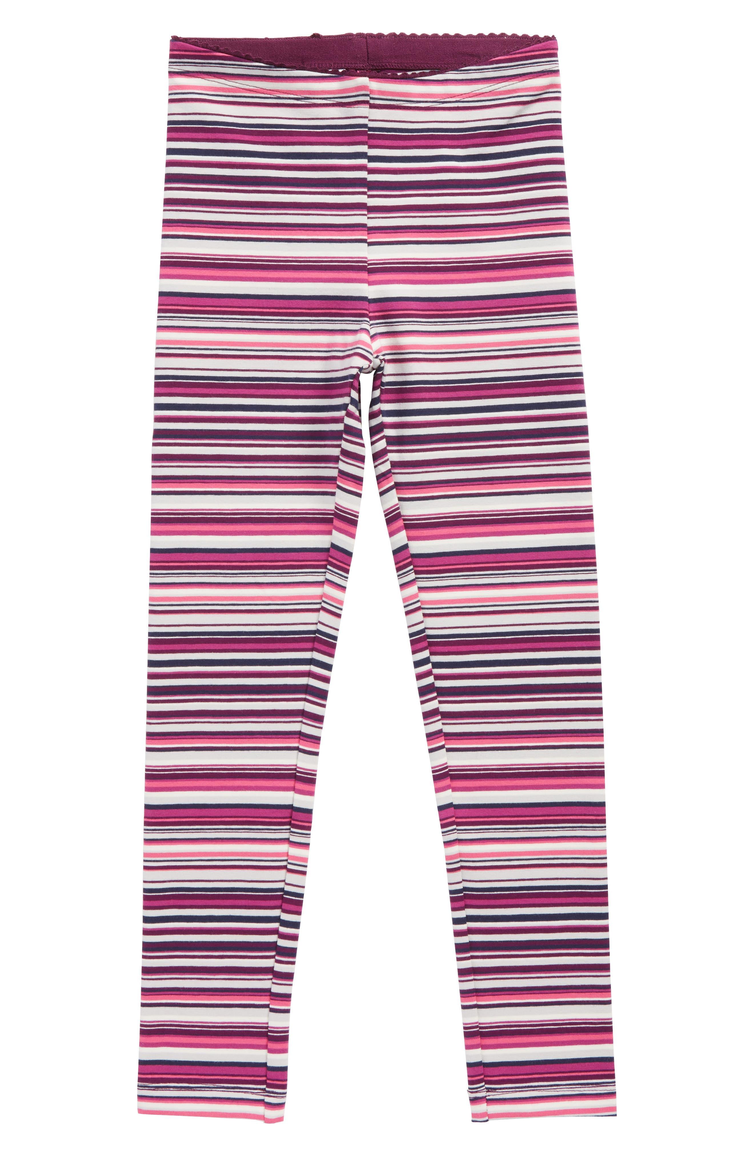 Alternate Image 1 Selected - Tea Collection Multistripe Leggings (Toddler Girls, Little Girls & Big Girls)