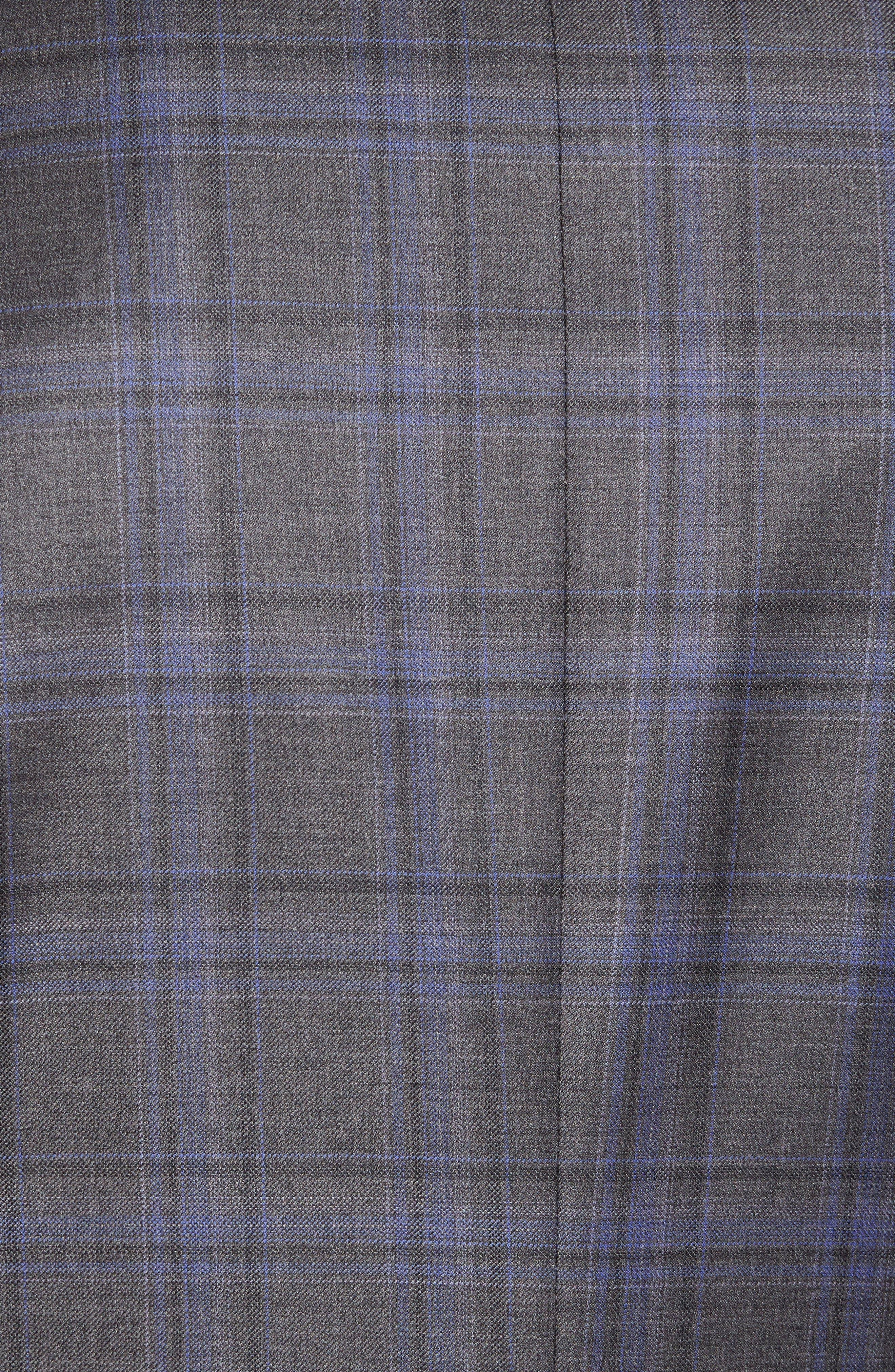 Alternate Image 5  - Peter Millar Classic Fit Plaid Wool Sport Coat