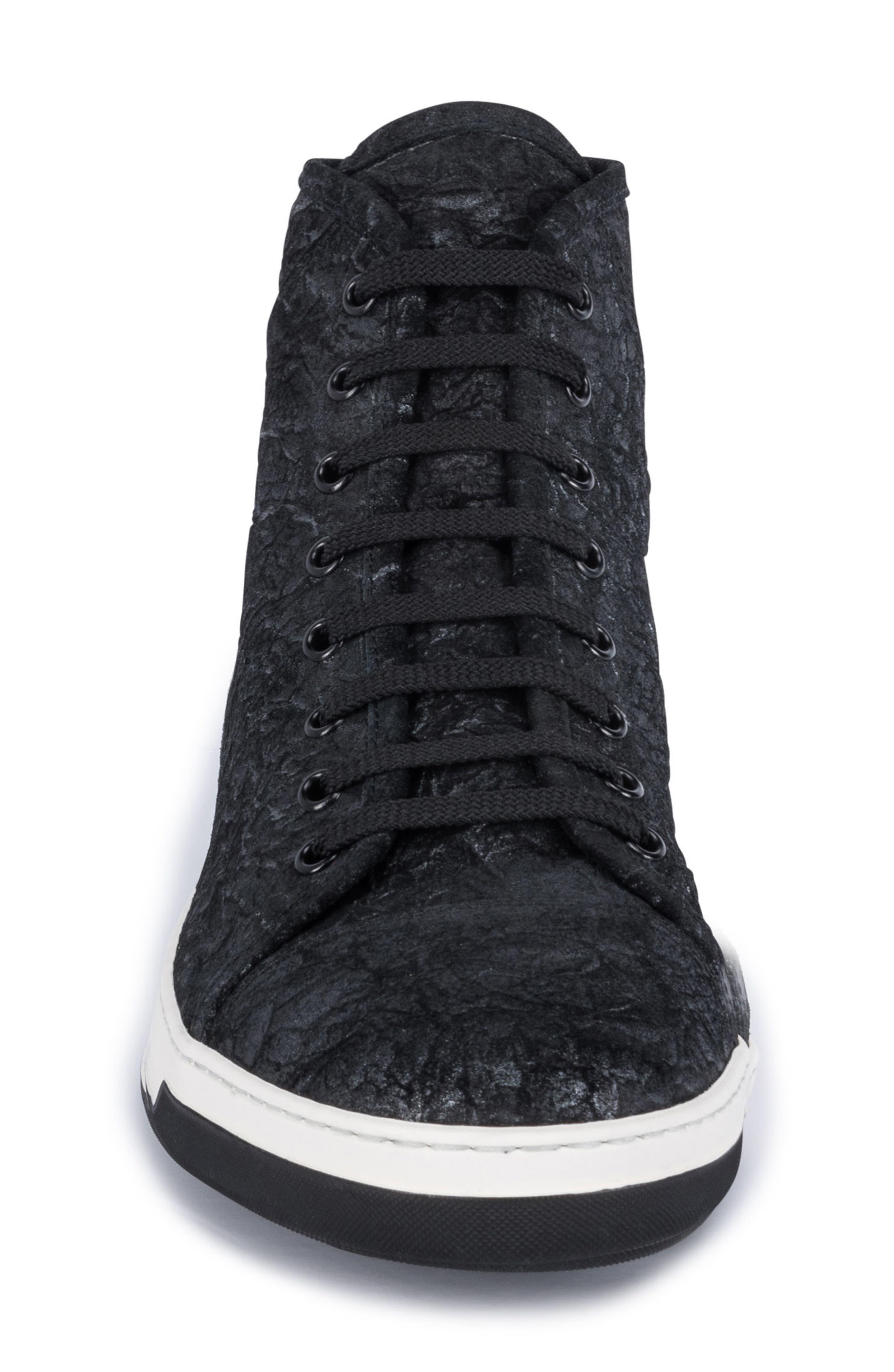 Pompeii Sneaker,                             Alternate thumbnail 4, color,                             Nero