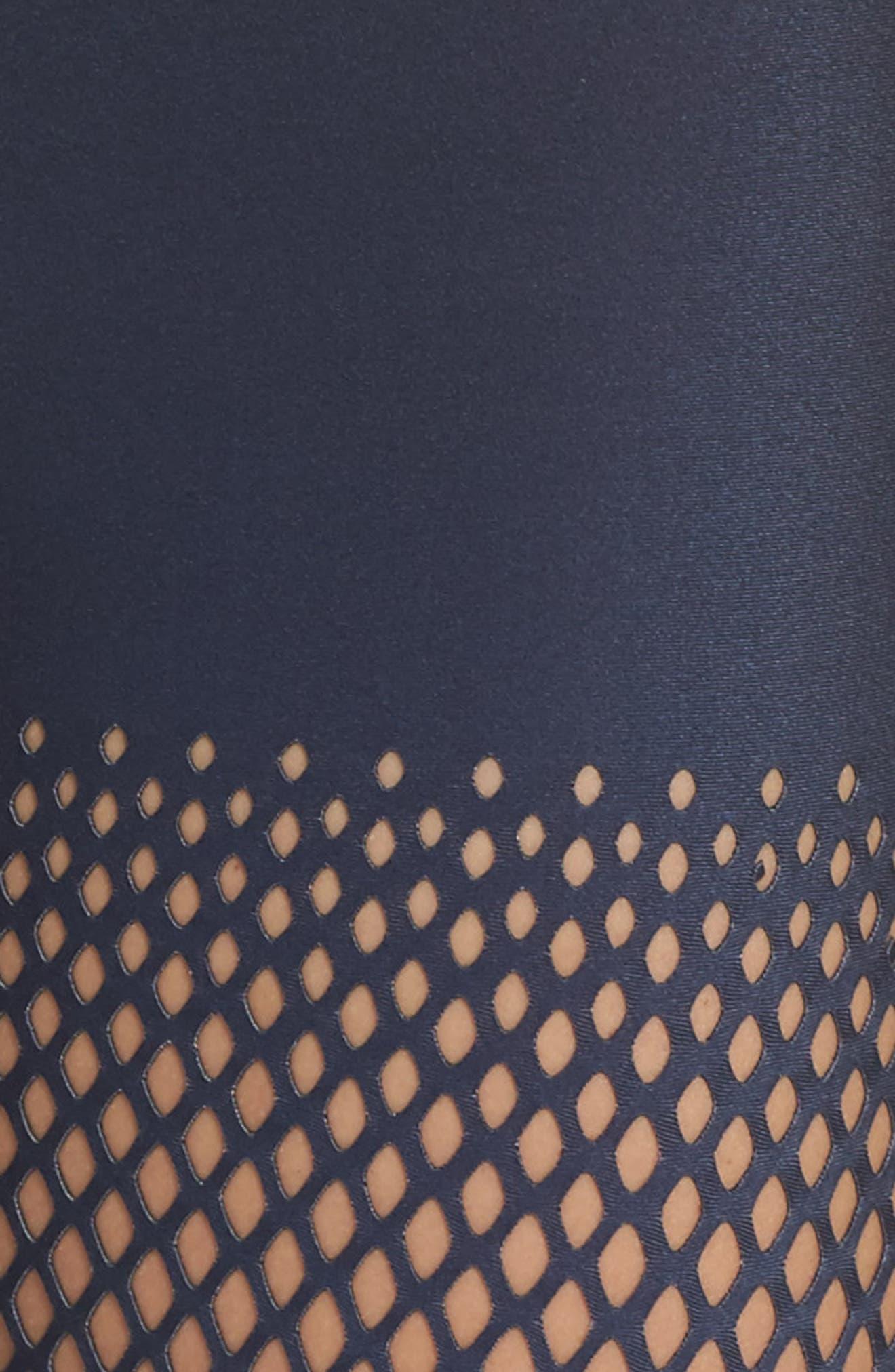 Ultra Ultramesh Silk Leggings,                             Alternate thumbnail 6, color,                             Gradient Navy