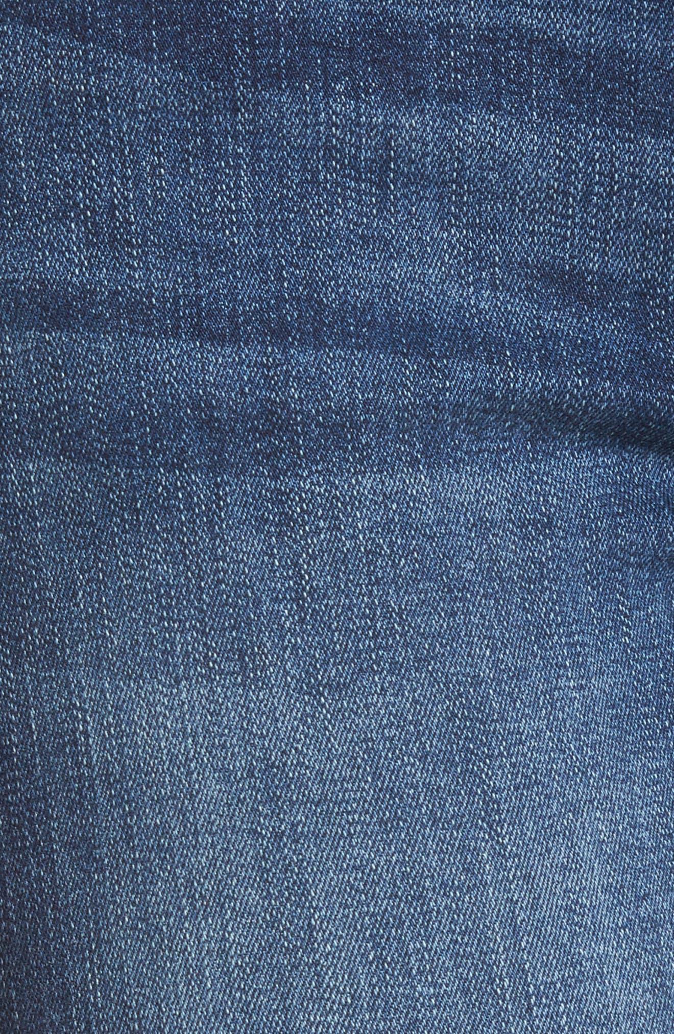 Emma Power Legging Jeans,                             Alternate thumbnail 4, color,                             Fenwick