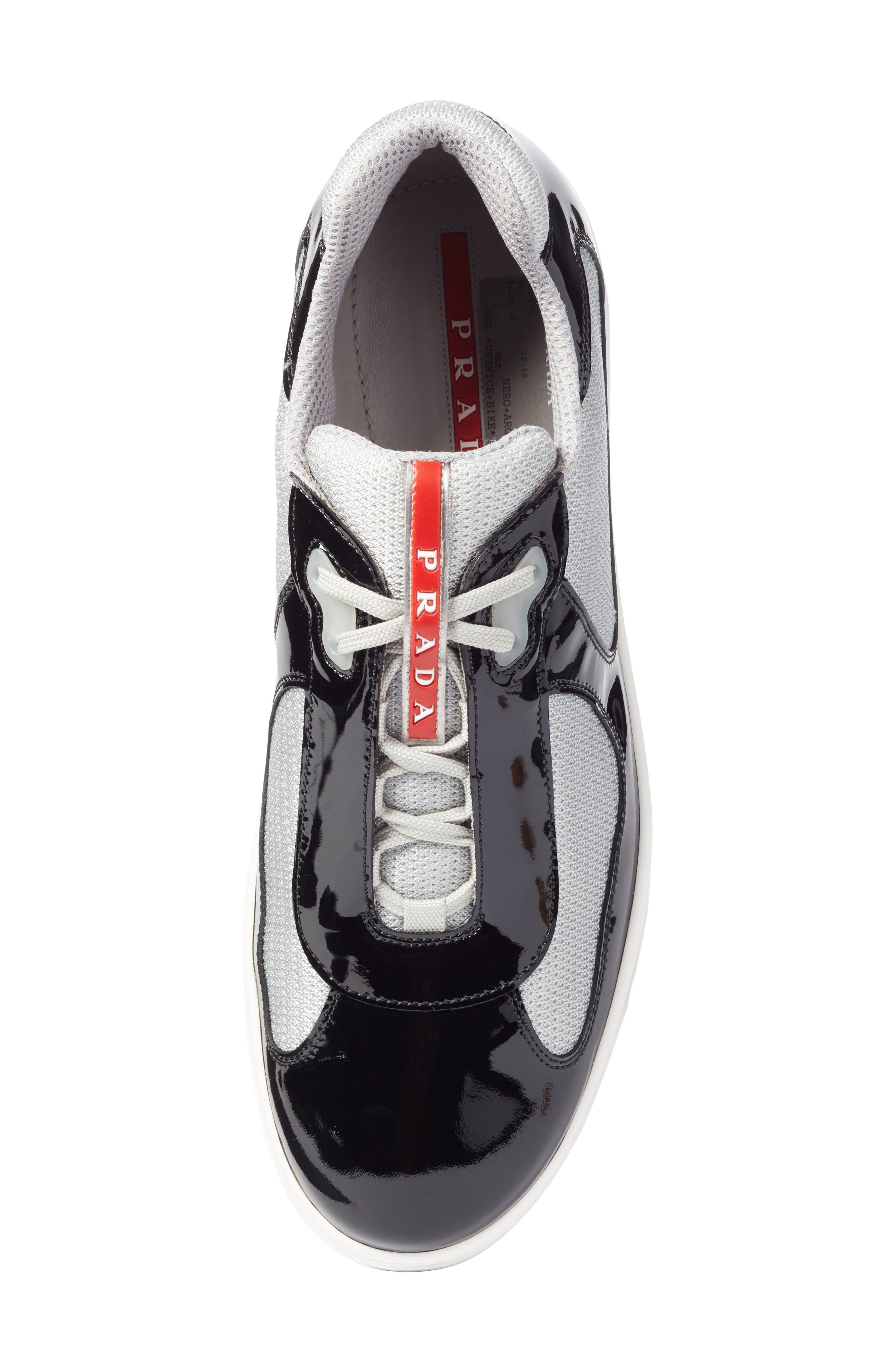 Linea Rossa New America's Cup Sneaker,                             Alternate thumbnail 5, color,                             Nero Argento