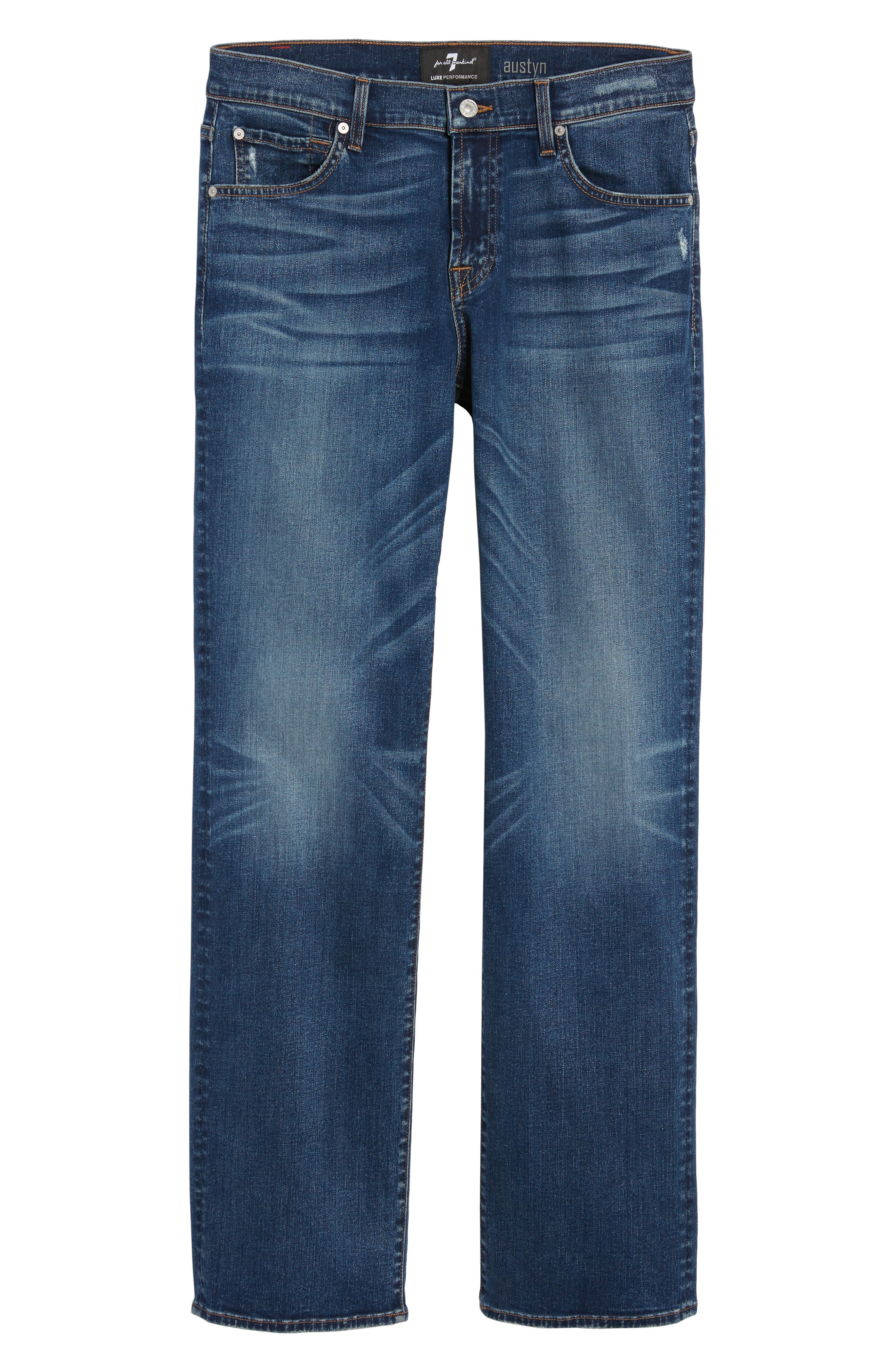 Alternate Image 6  - 7 For All Mankind® Luxe Performance - Austyn Relaxed Fit Jeans (Union)