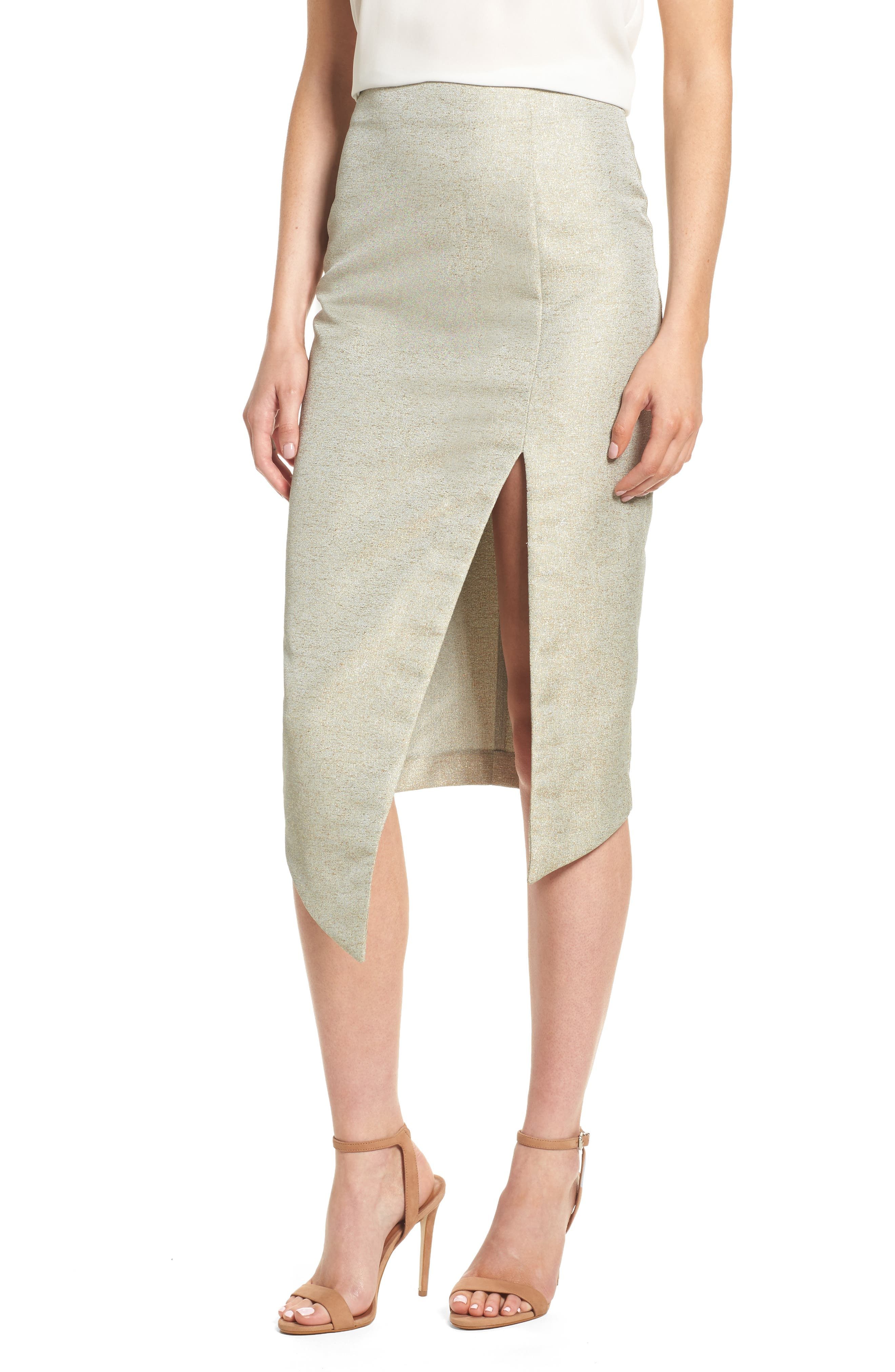 Valencia Midi Skirt,                         Main,                         color, Sage