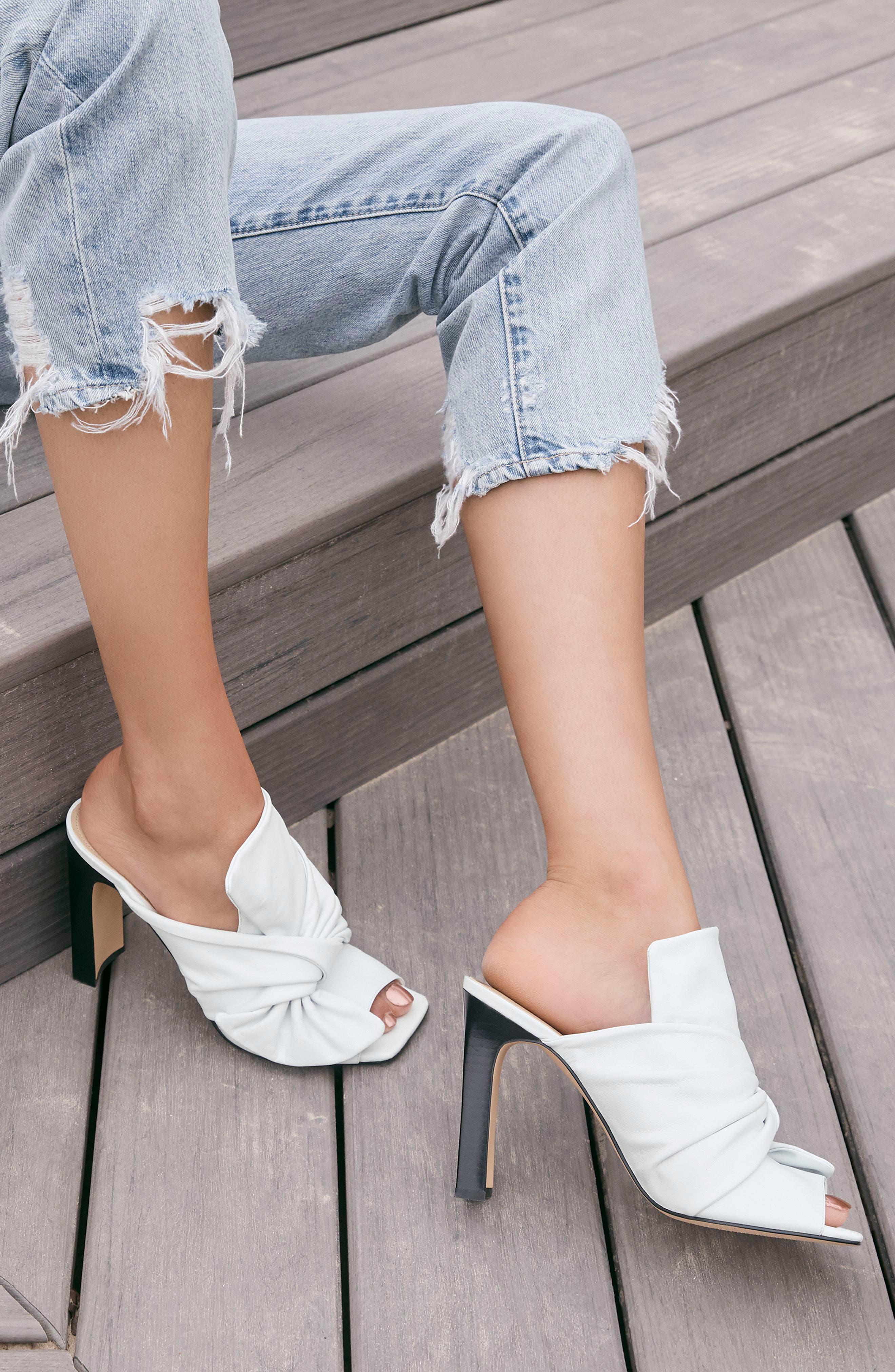 The Phoebe High Rise Straight Leg Jeans,                             Alternate thumbnail 9, color,