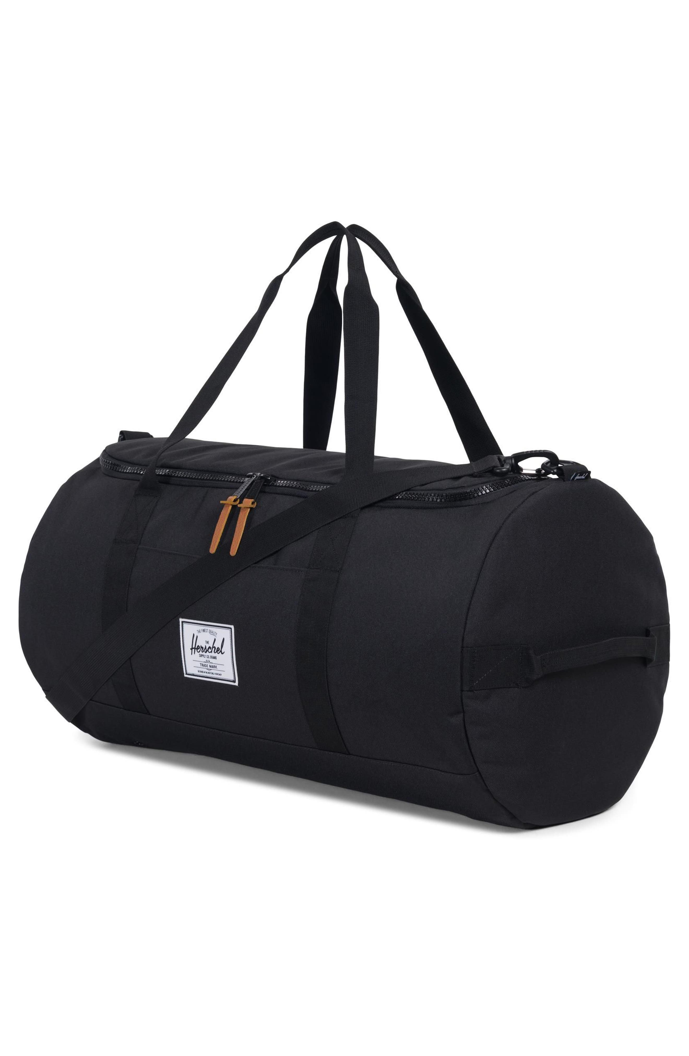Sutton Duffel Bag,                             Alternate thumbnail 2, color,                             Black