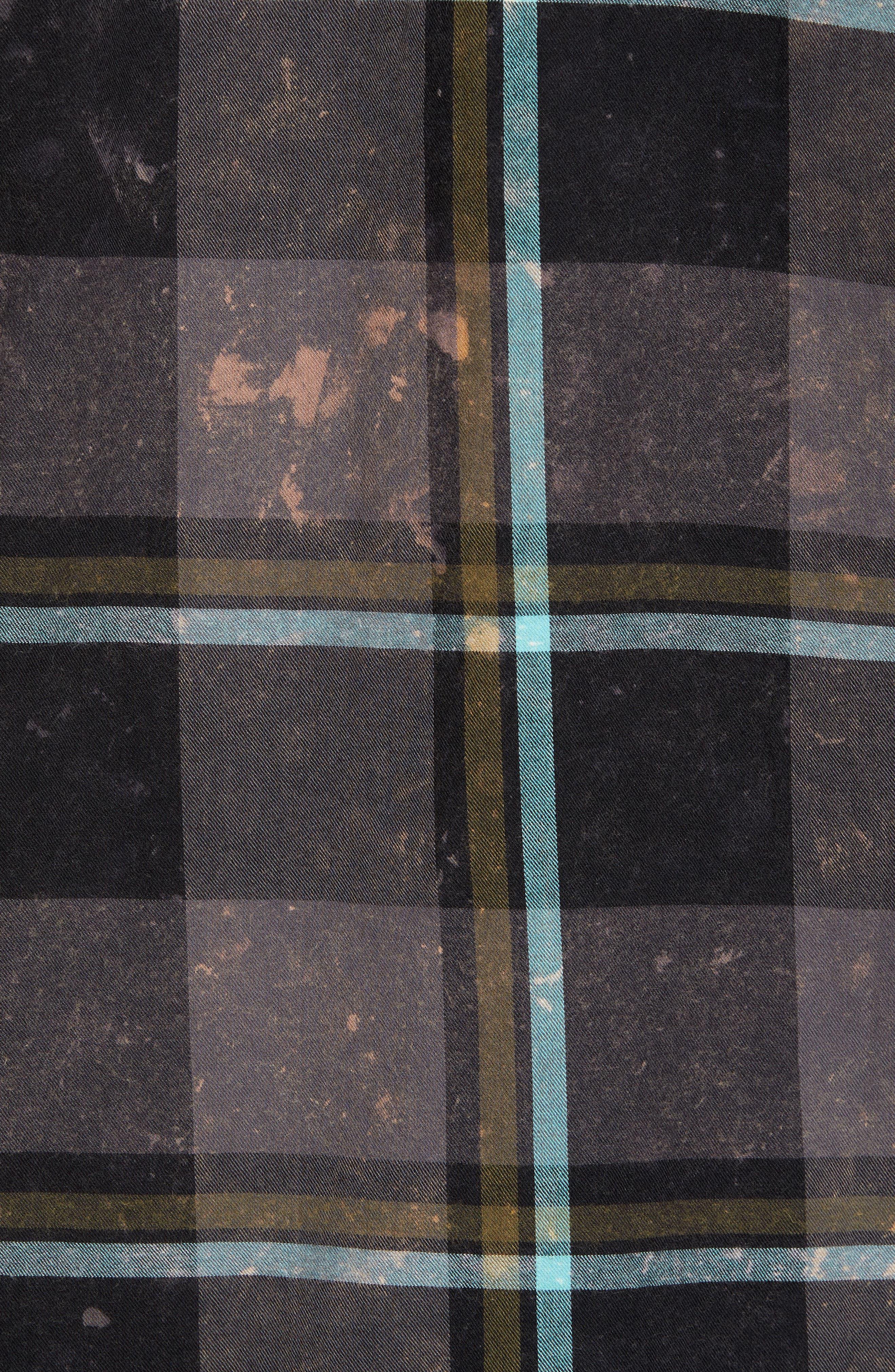 Alternate Image 5  - Hurley Burnside Plaid Shirt