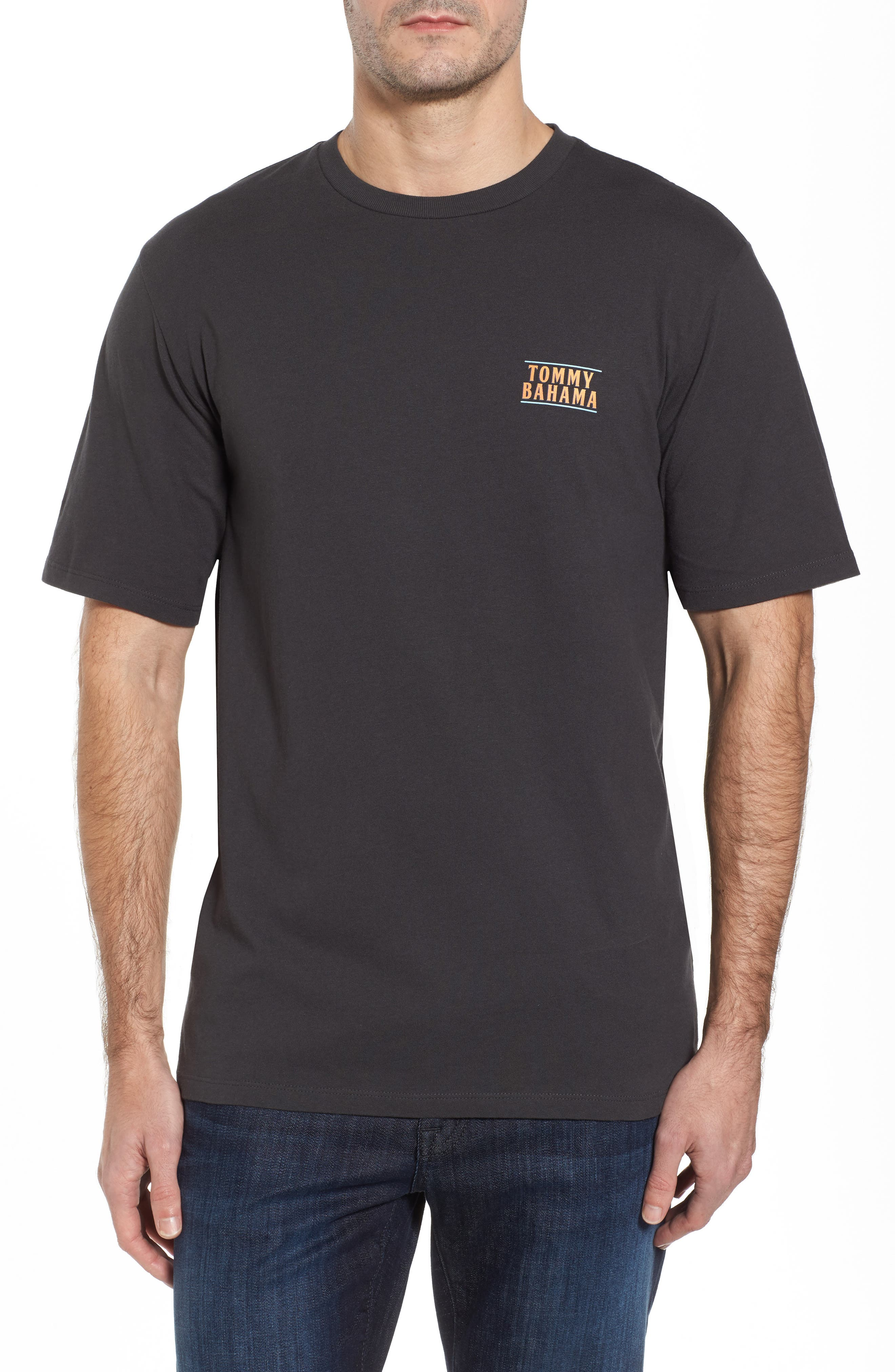 Latest Posts T-Shirt,                             Alternate thumbnail 2, color,                             Coal