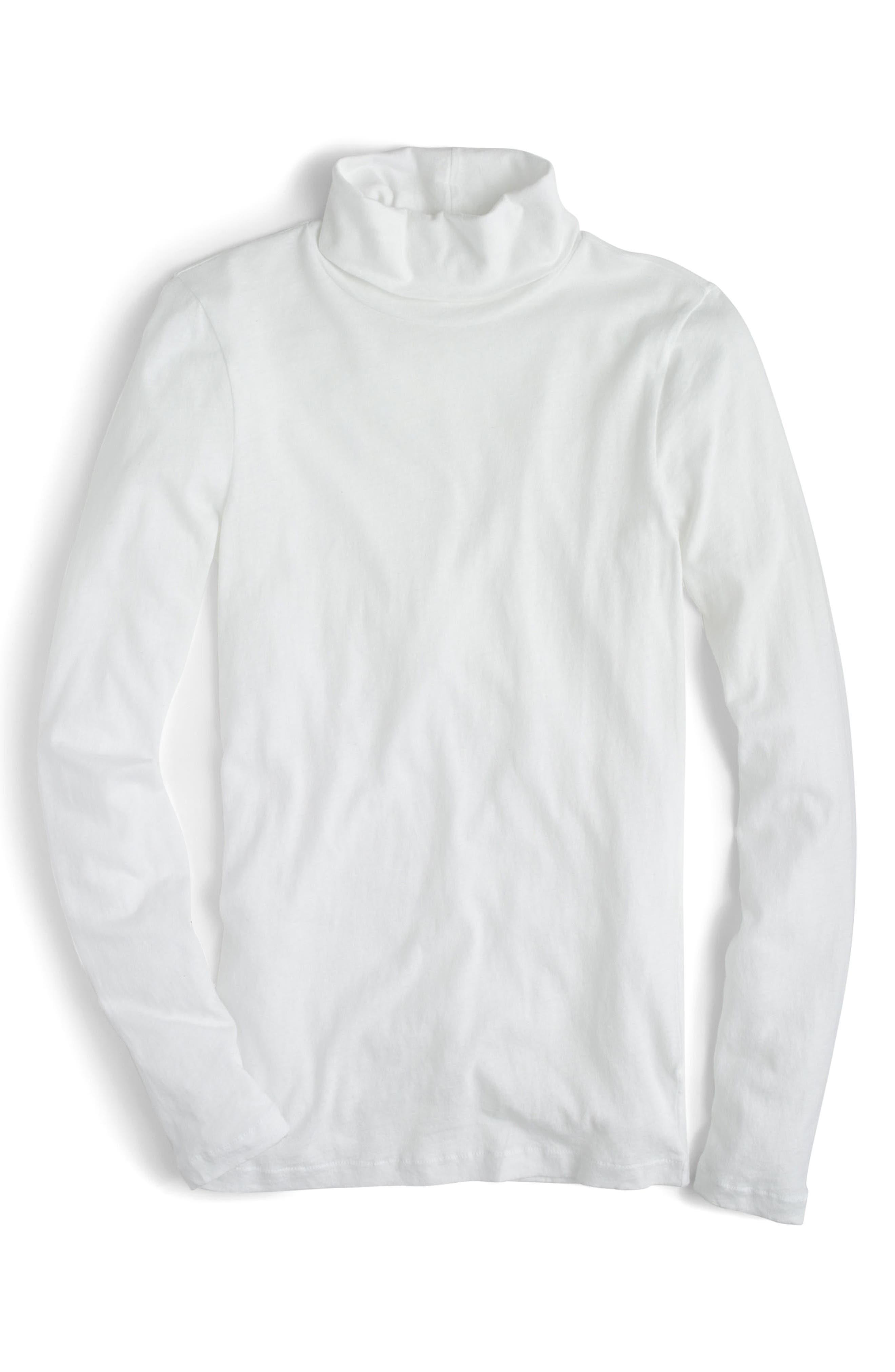 J.Crew Tissue Turtleneck Tee