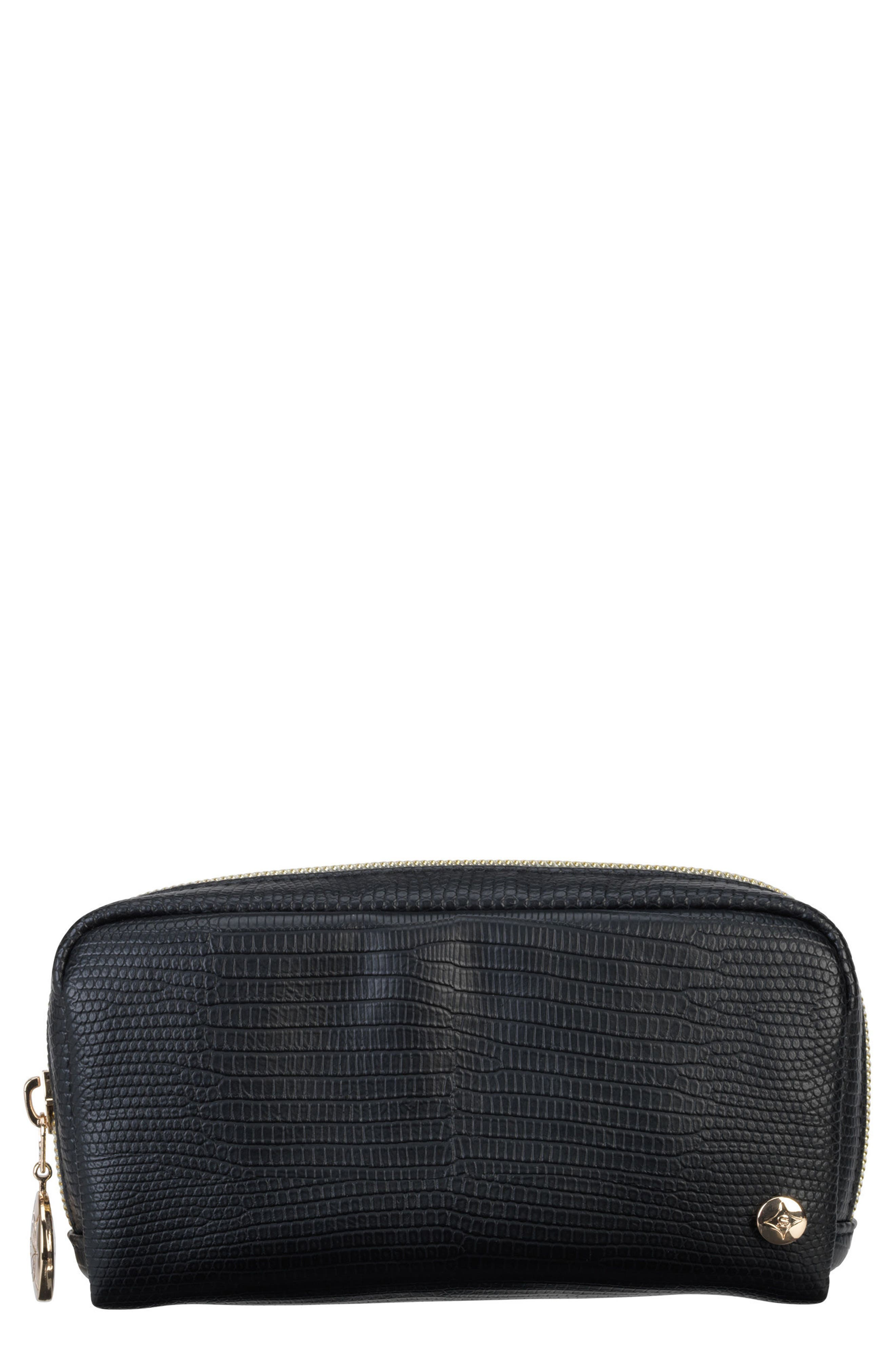 Stephanie Johnson Galapagos Noir Mini Pouch