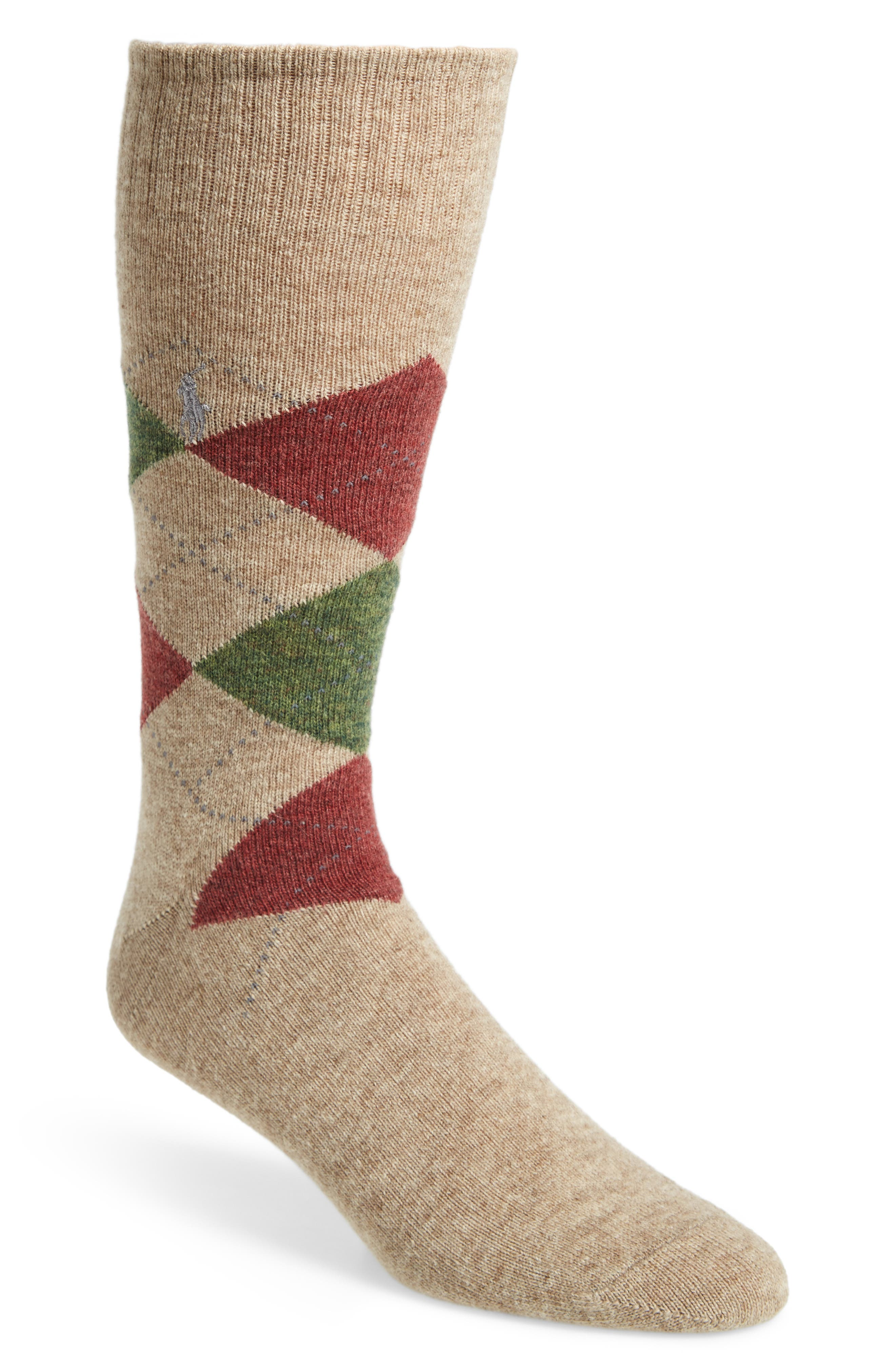 Polo Ralph Lauren Argyle Wool Socks