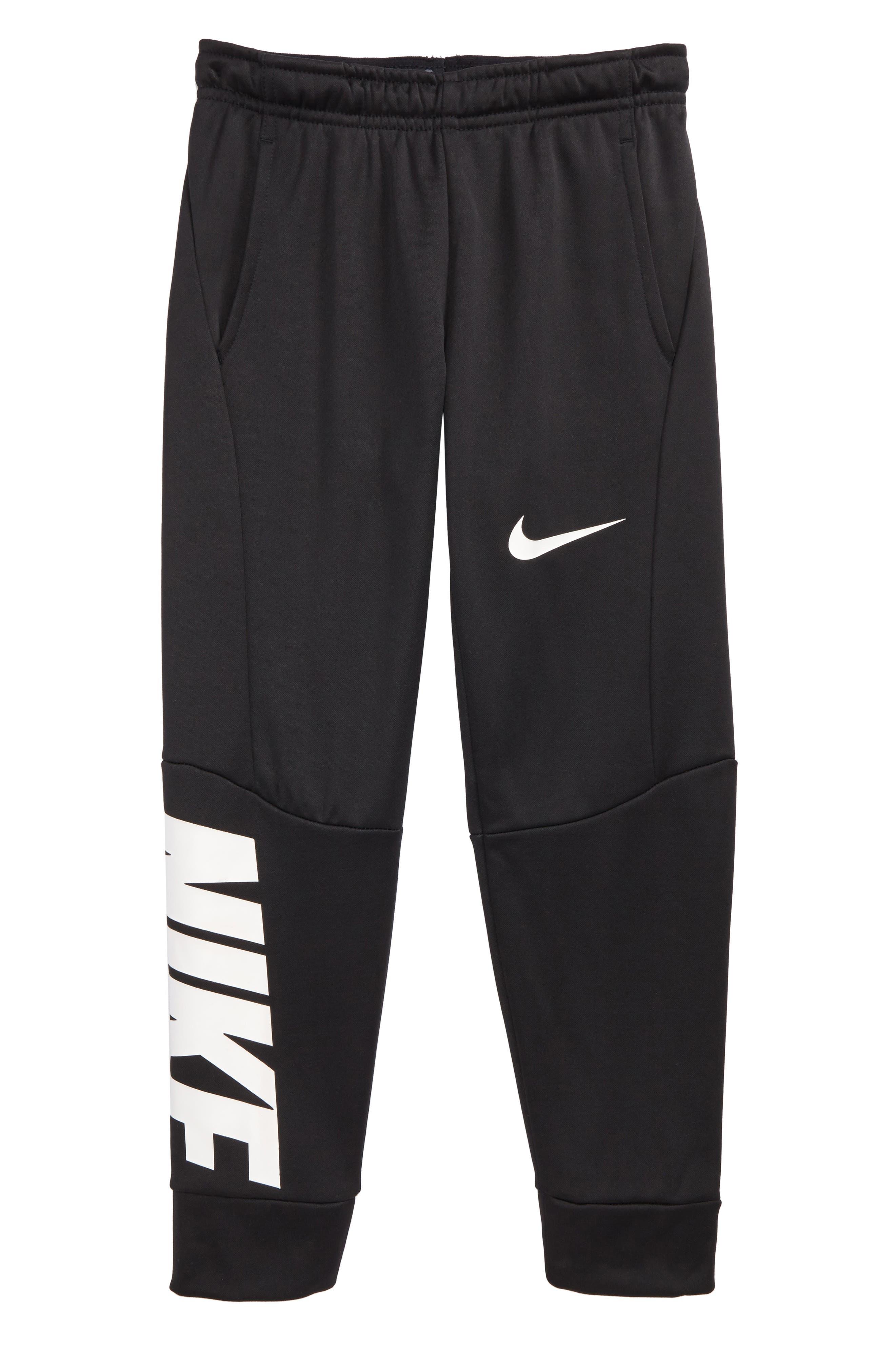 Therma-FIT GFX Fleece Jogger Pants,                         Main,                         color, Black/ Carbon Heather