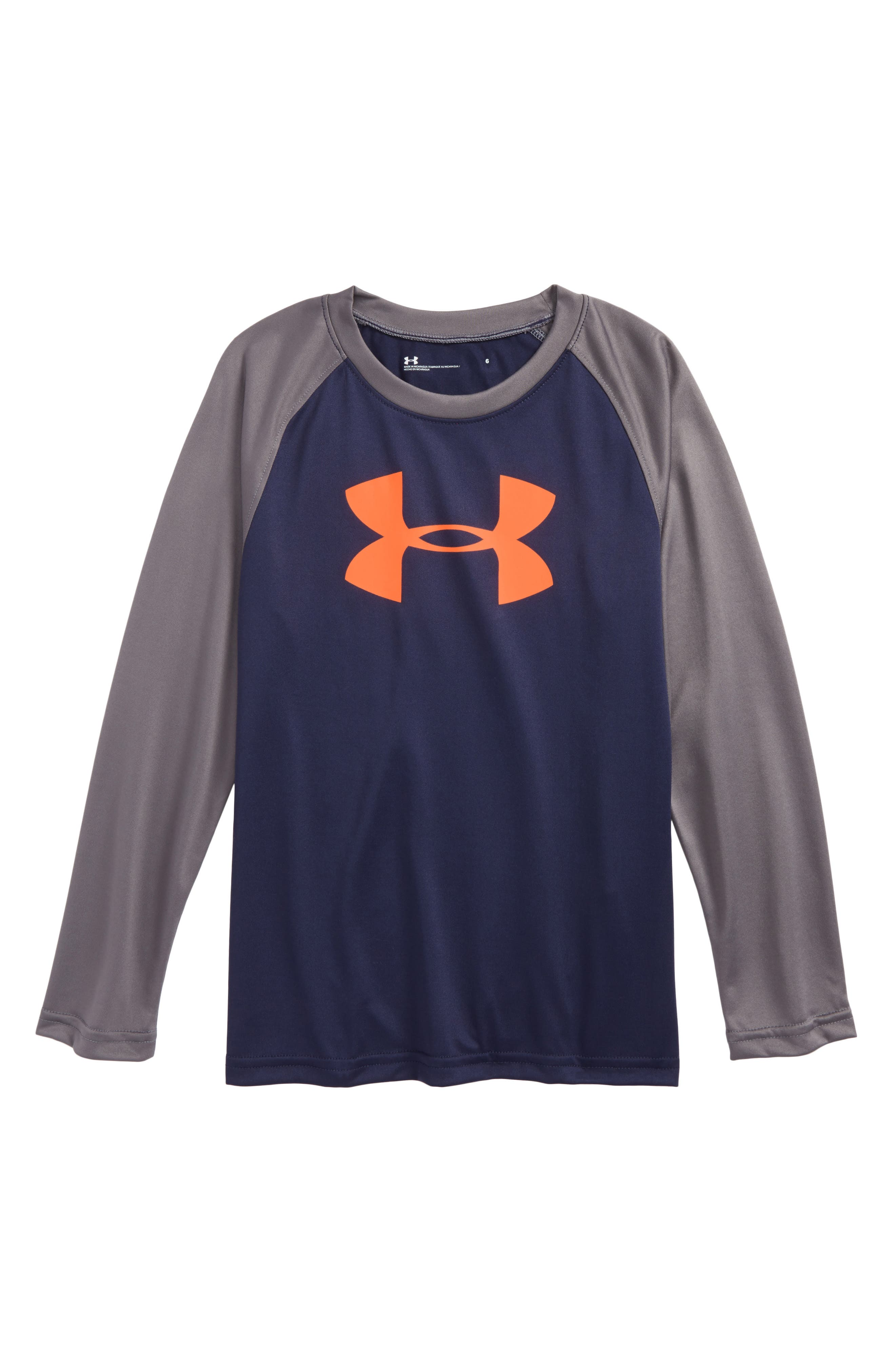 Under Armour Big Logo Raglan T-shirt (Toddler Boys & Little Boys)