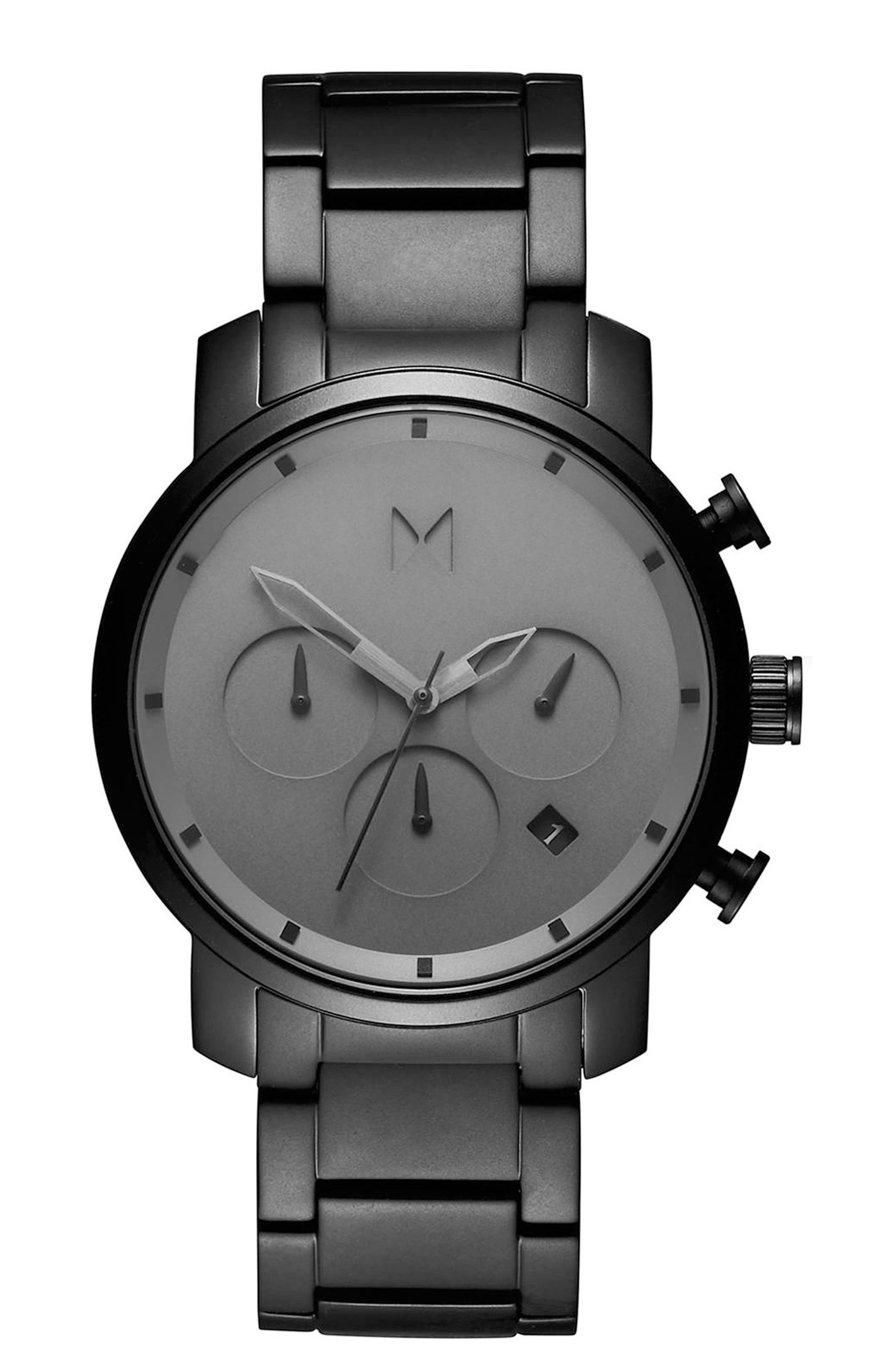 MVMT Chrono Chronograph Bracelet Watch, 40mm