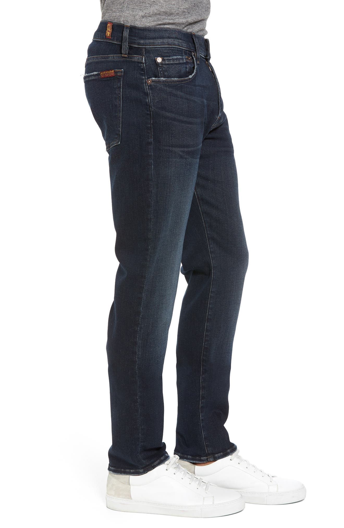 Alternate Image 3  - 7 For All Mankind® Adrien Slim Fit Jeans (Authentic Reform)