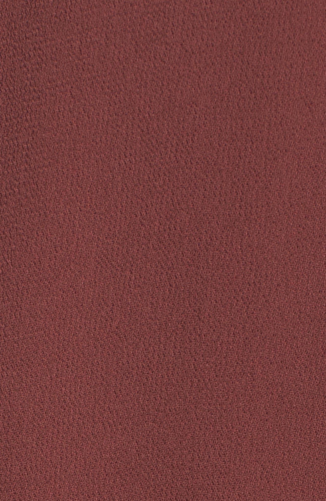 Rosie Ruffle Dress,                             Alternate thumbnail 5, color,                             Clay