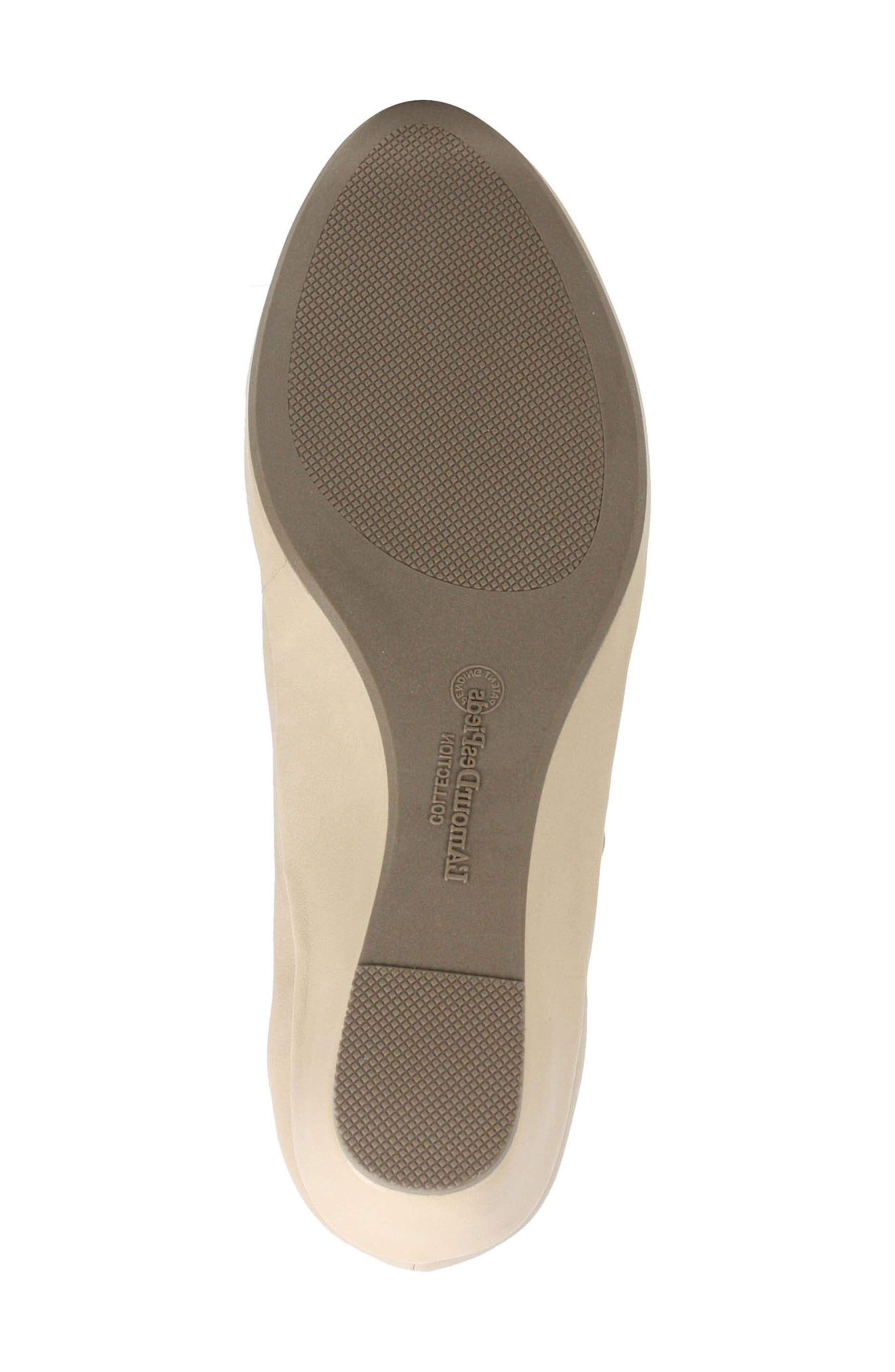 Benham Wedge,                             Alternate thumbnail 5, color,                             Nude Leather