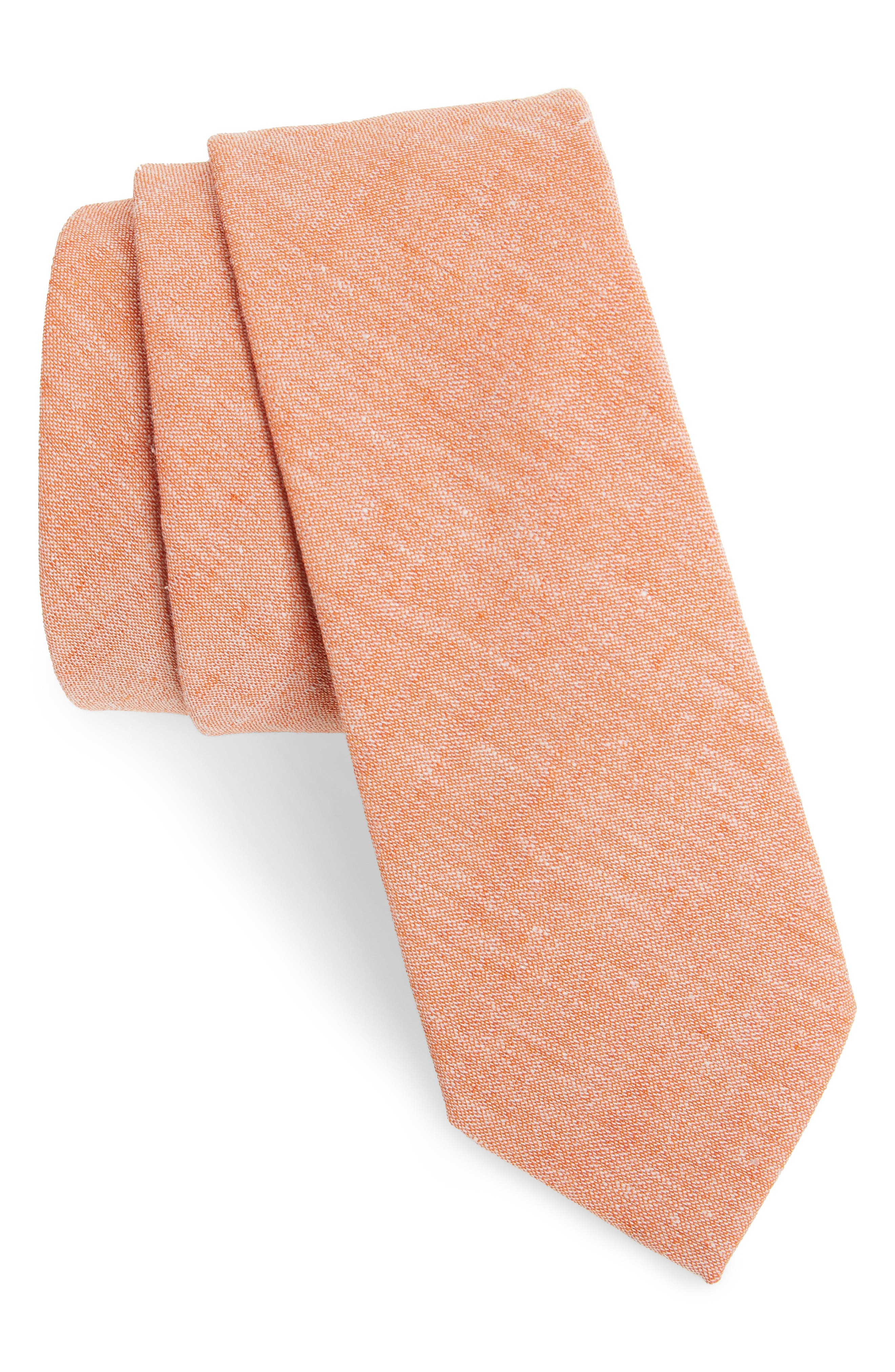 Nordstrom Men's Shop Collins Solid Skinny Tie