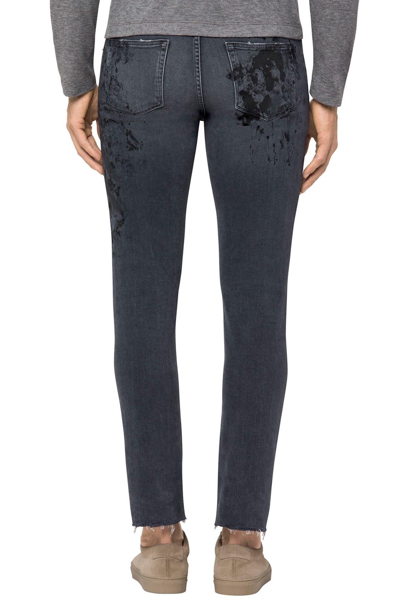 Mick Skinny Fit Jeans,                             Alternate thumbnail 2, color,                             Vitreous