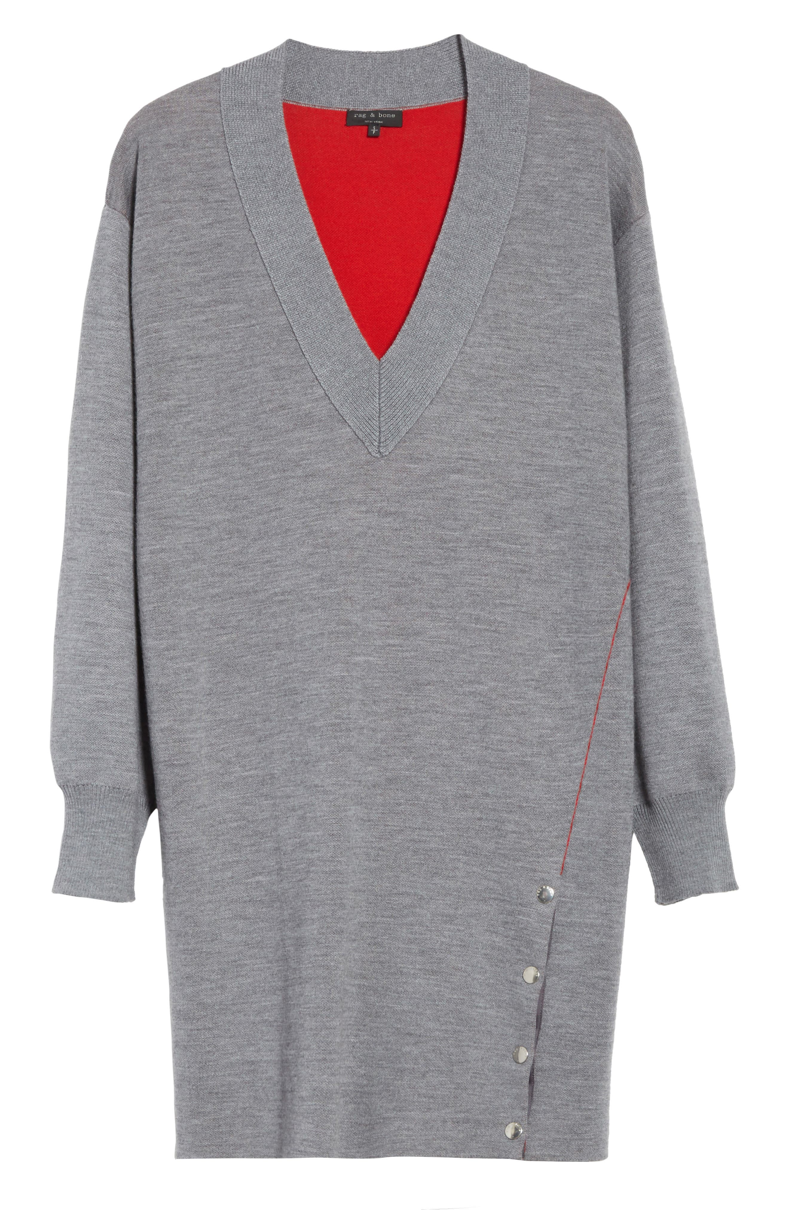 Alternate Image 6  - rag & bone Saralyn Merino Wool Blend Sweater Dress