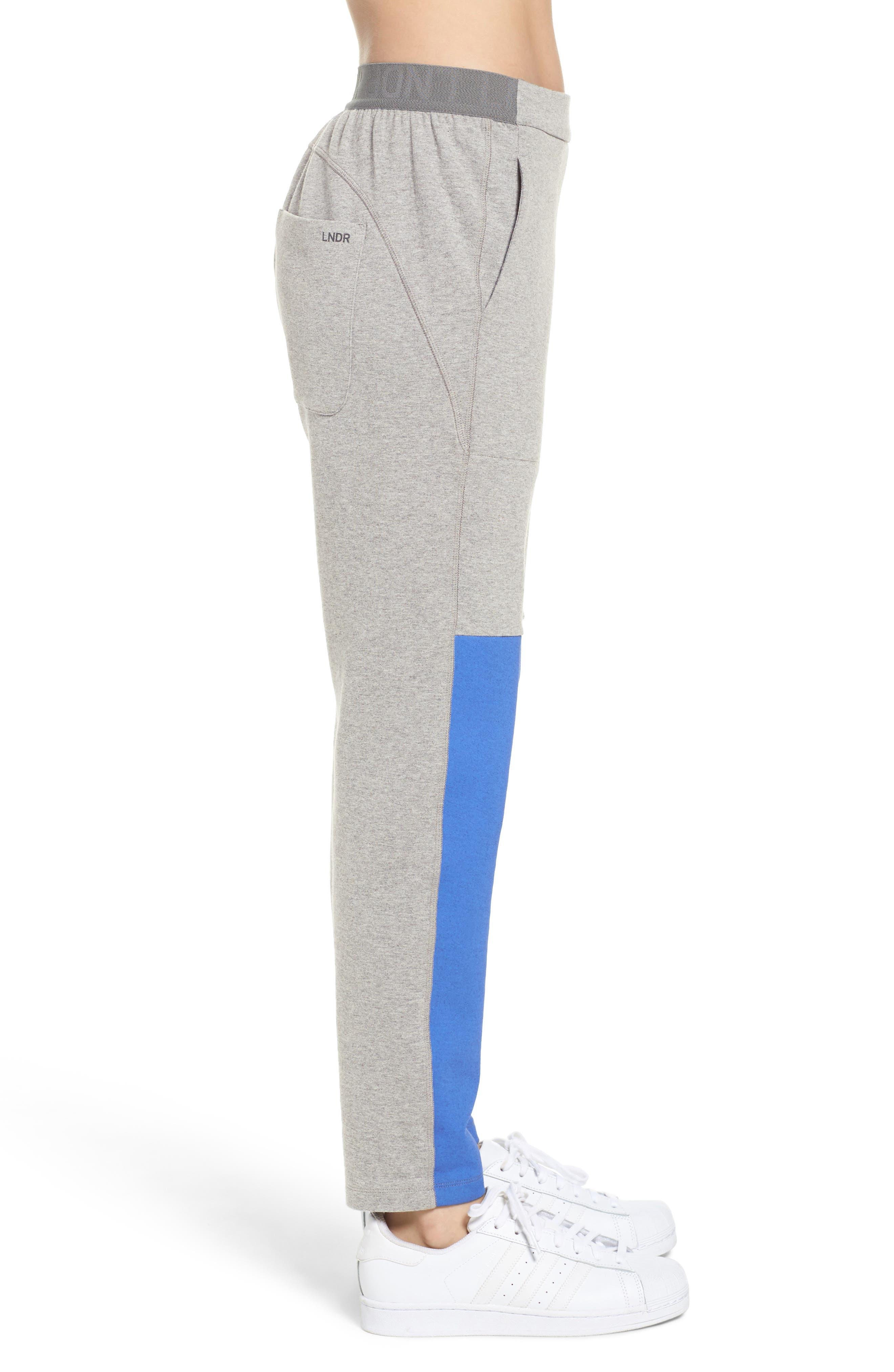 Blixen Track Pants,                             Alternate thumbnail 3, color,                             Grey Marl