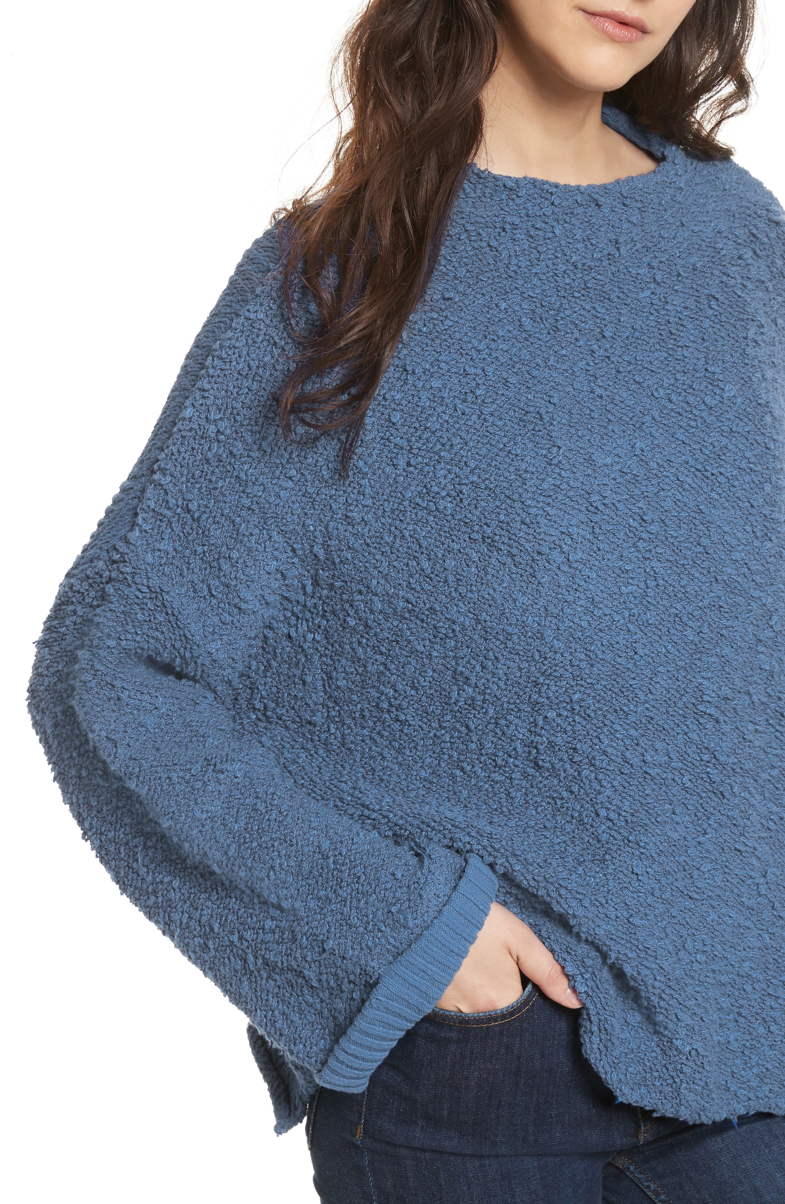Alternate Image 4  - Free People Cuddle Up Pullover